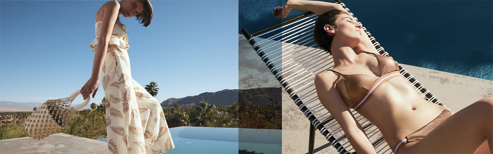 Get ready to get away: women's vacation clothing, shoes and accessories.