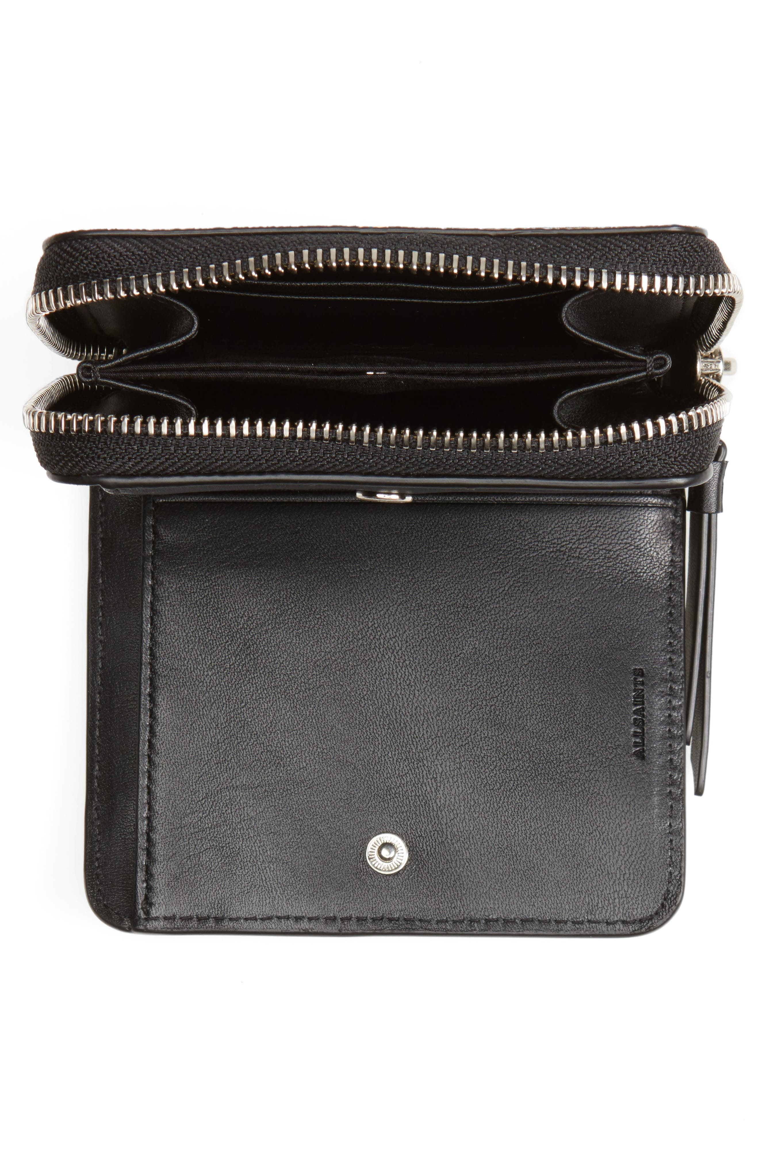 Mast Shine Leather Wallet,                             Alternate thumbnail 2, color,                             001