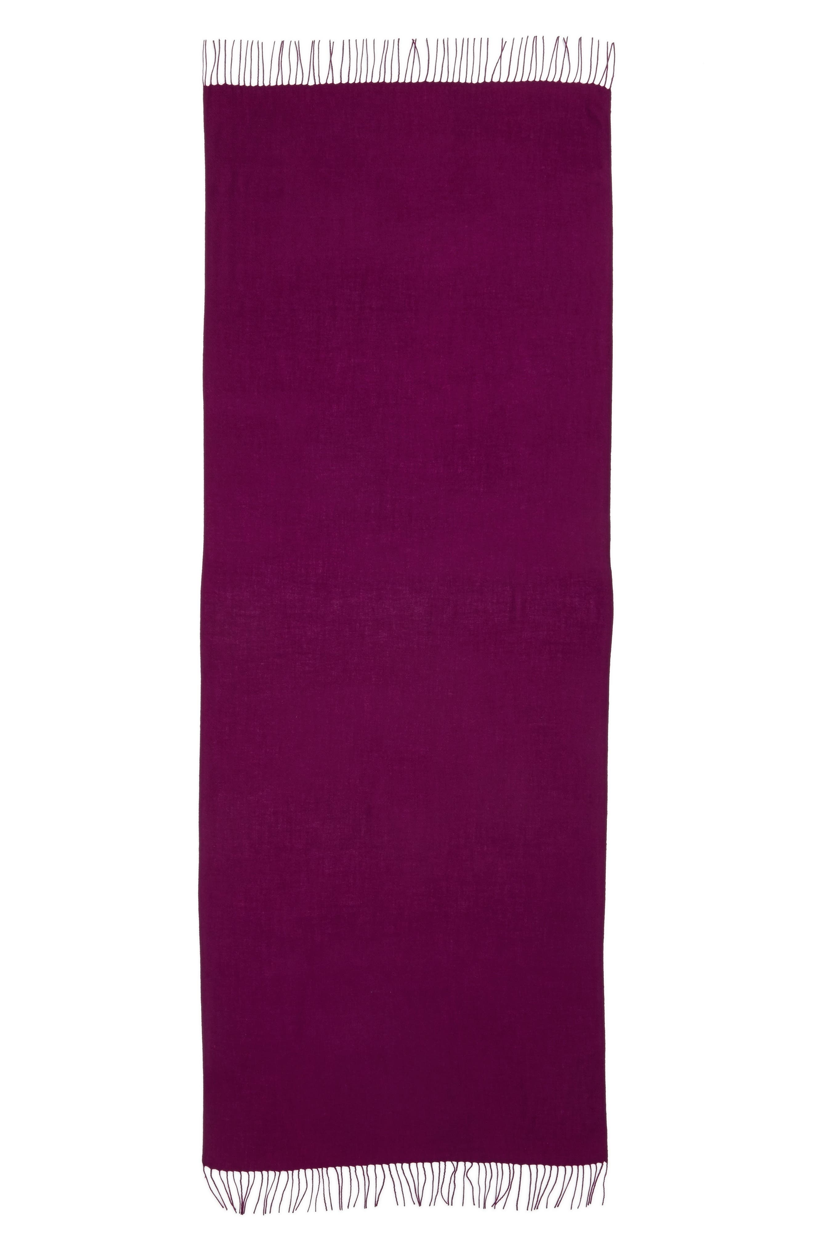 Tissue Weight Wool & Cashmere Scarf,                             Alternate thumbnail 186, color,
