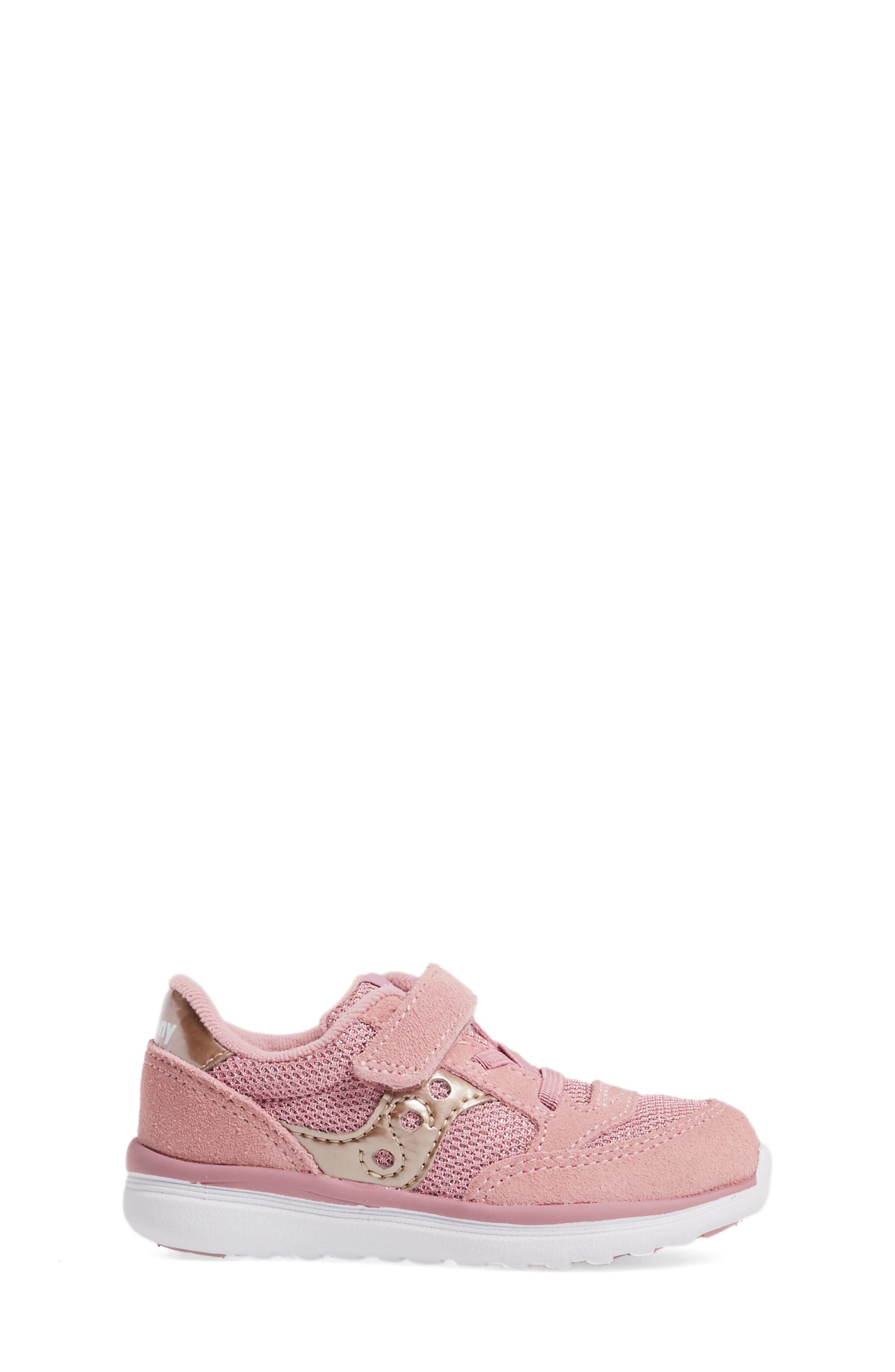 Jazz Lite Sneaker,                             Alternate thumbnail 3, color,                             BLUSH METALLIC