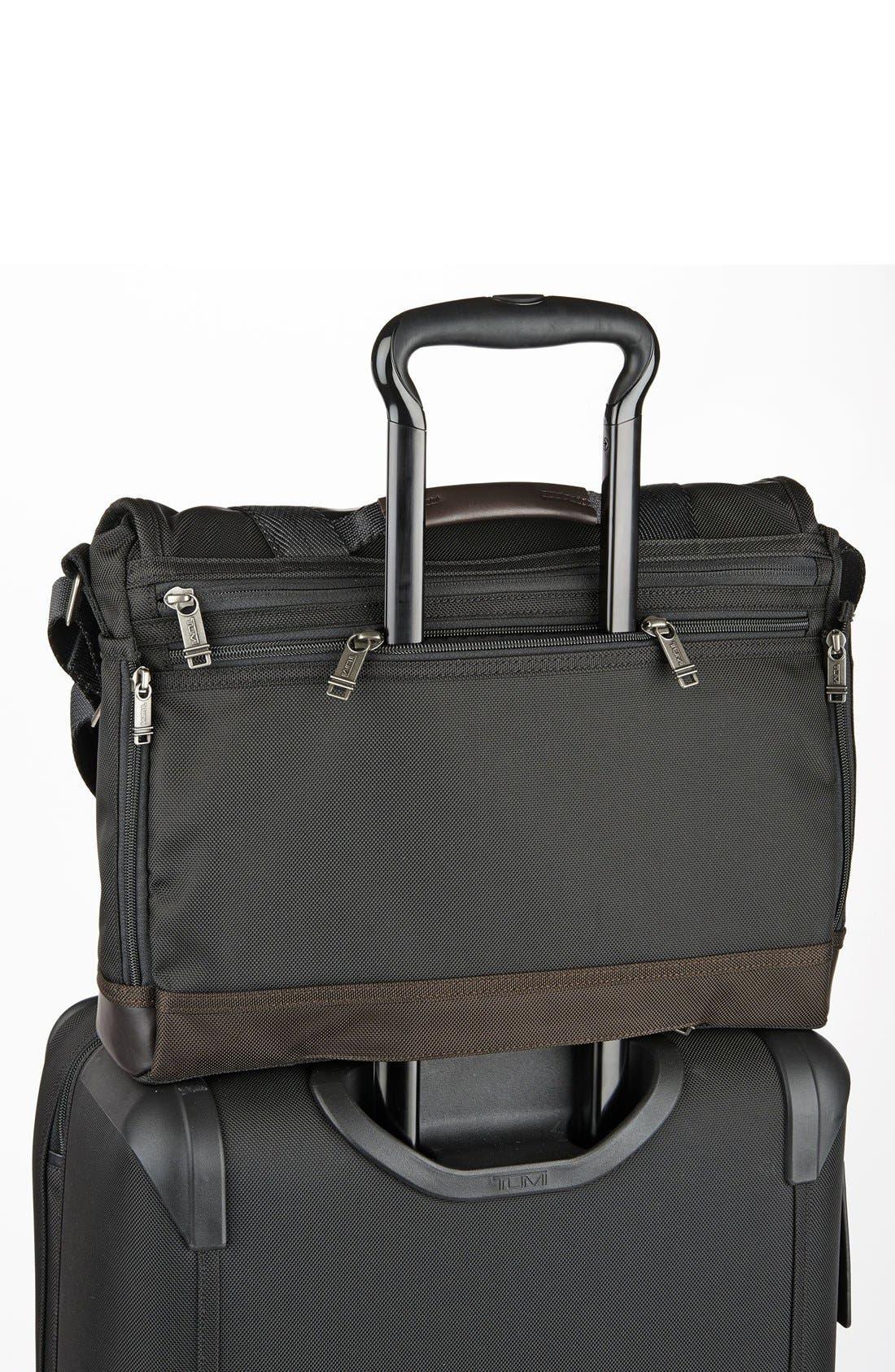 'Alpha Bravo - Foster' Messenger Bag,                             Alternate thumbnail 6, color,                             001