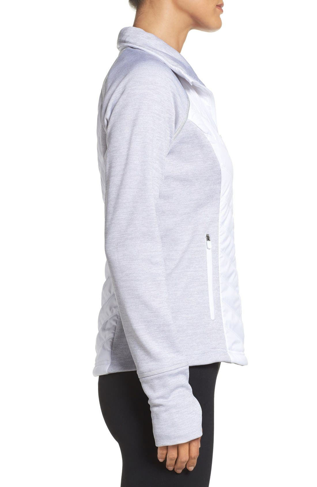 Zelfusion Reflective Quilted Jacket,                             Alternate thumbnail 32, color,