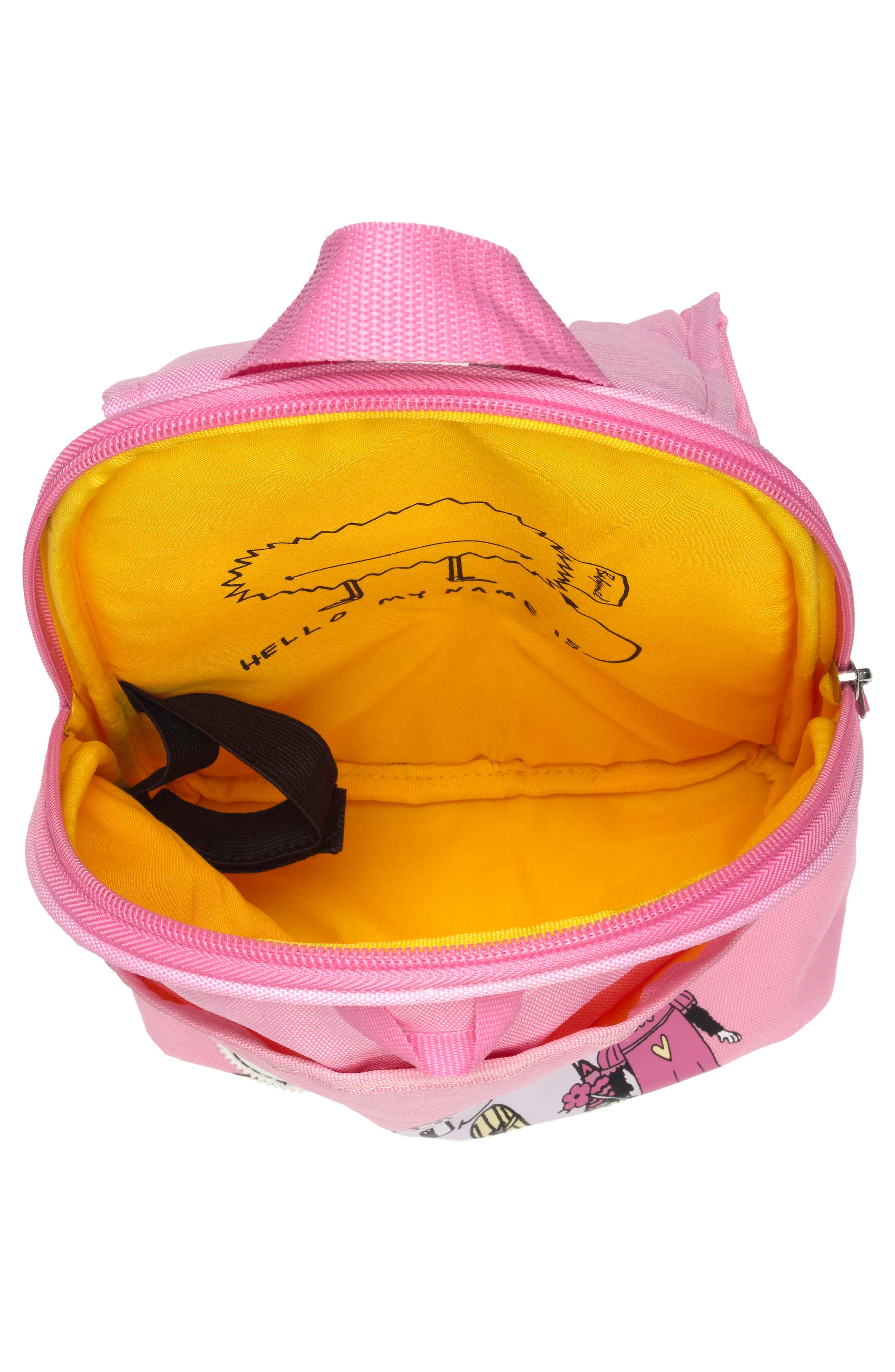 Graphic Mini Backpack,                             Alternate thumbnail 2, color,                             DAISY DRAGON CASTLE