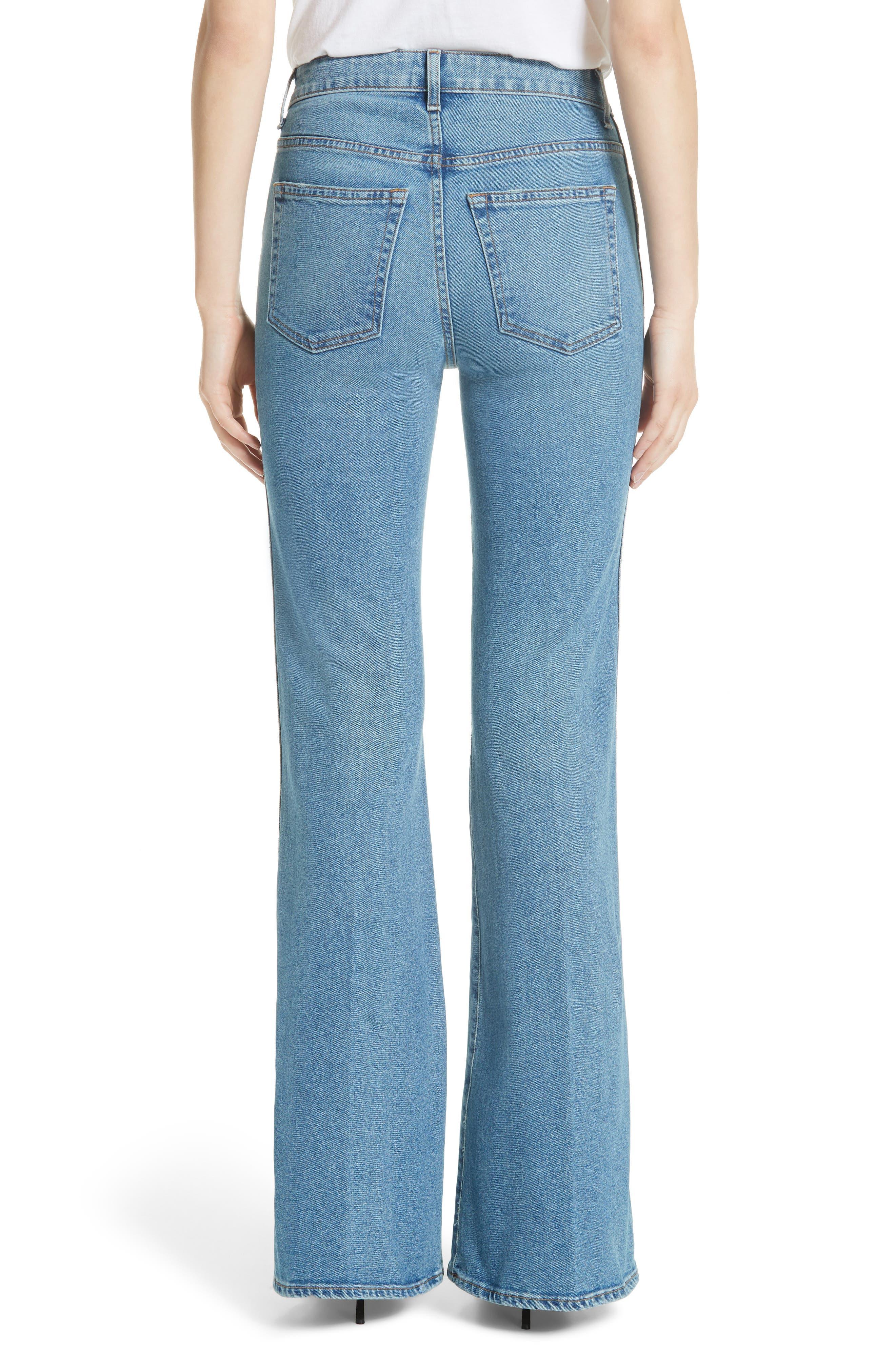 Reece Flare Jeans,                             Alternate thumbnail 2, color,                             401