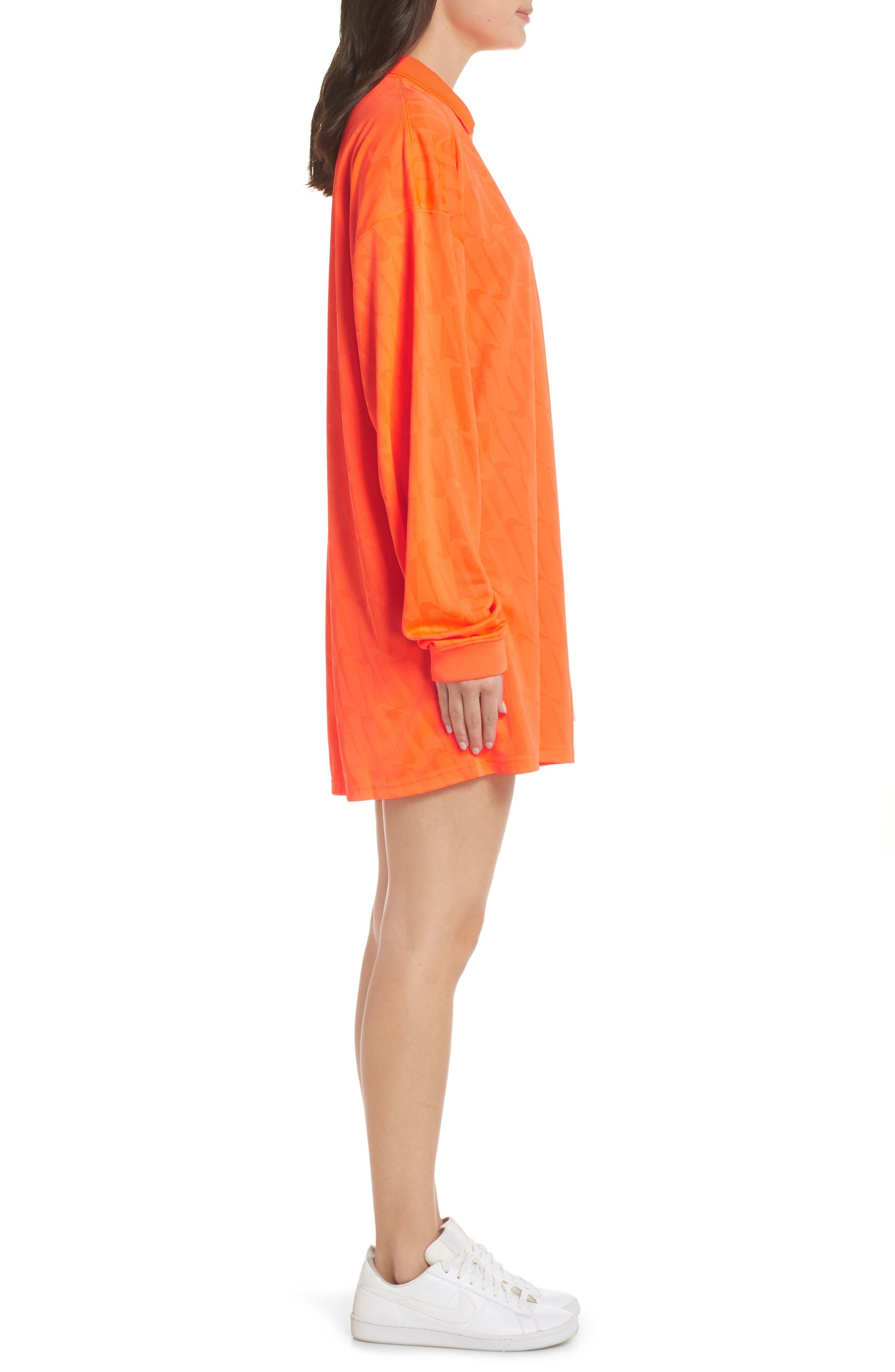 NRG Jersey Dress,                             Alternate thumbnail 3, color,                             HYPER CRIMSON