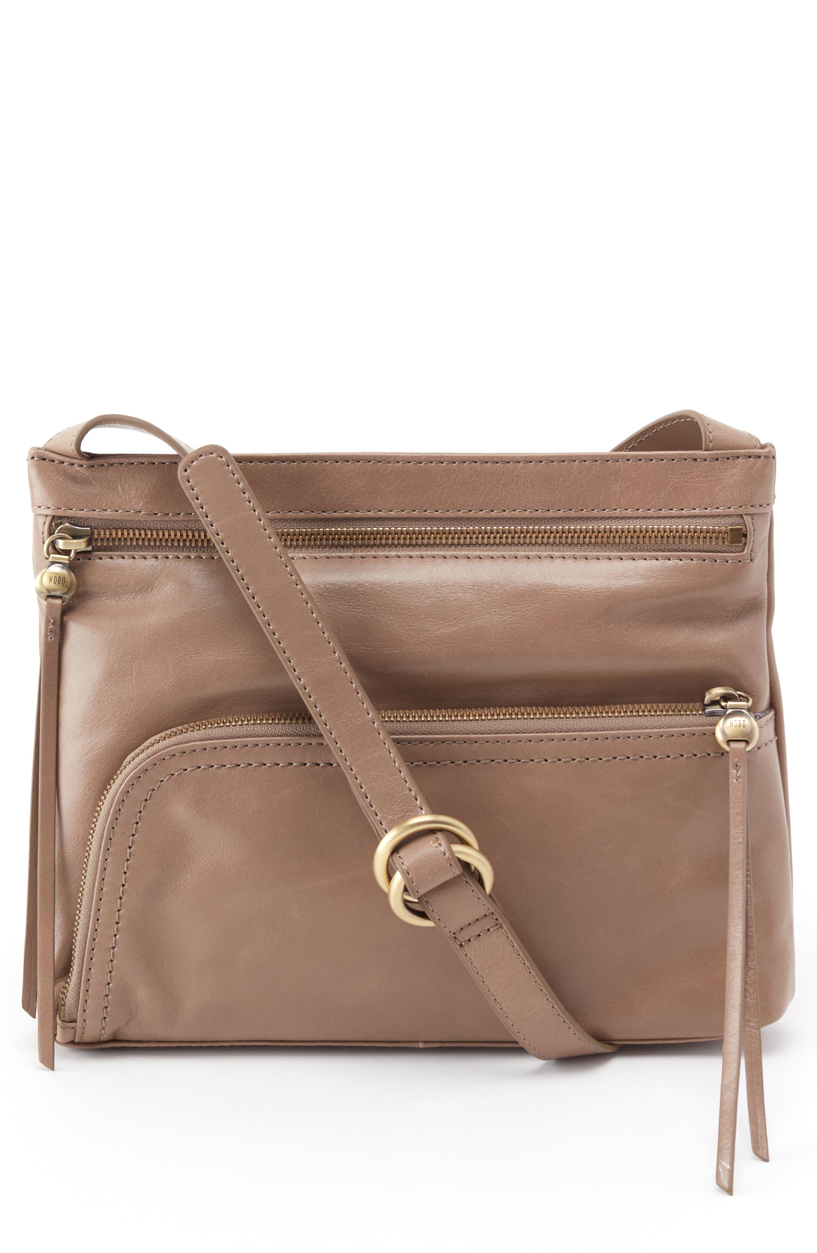 HOBO Cassie Crossbody Bag, Main, color, COBBLESTONE