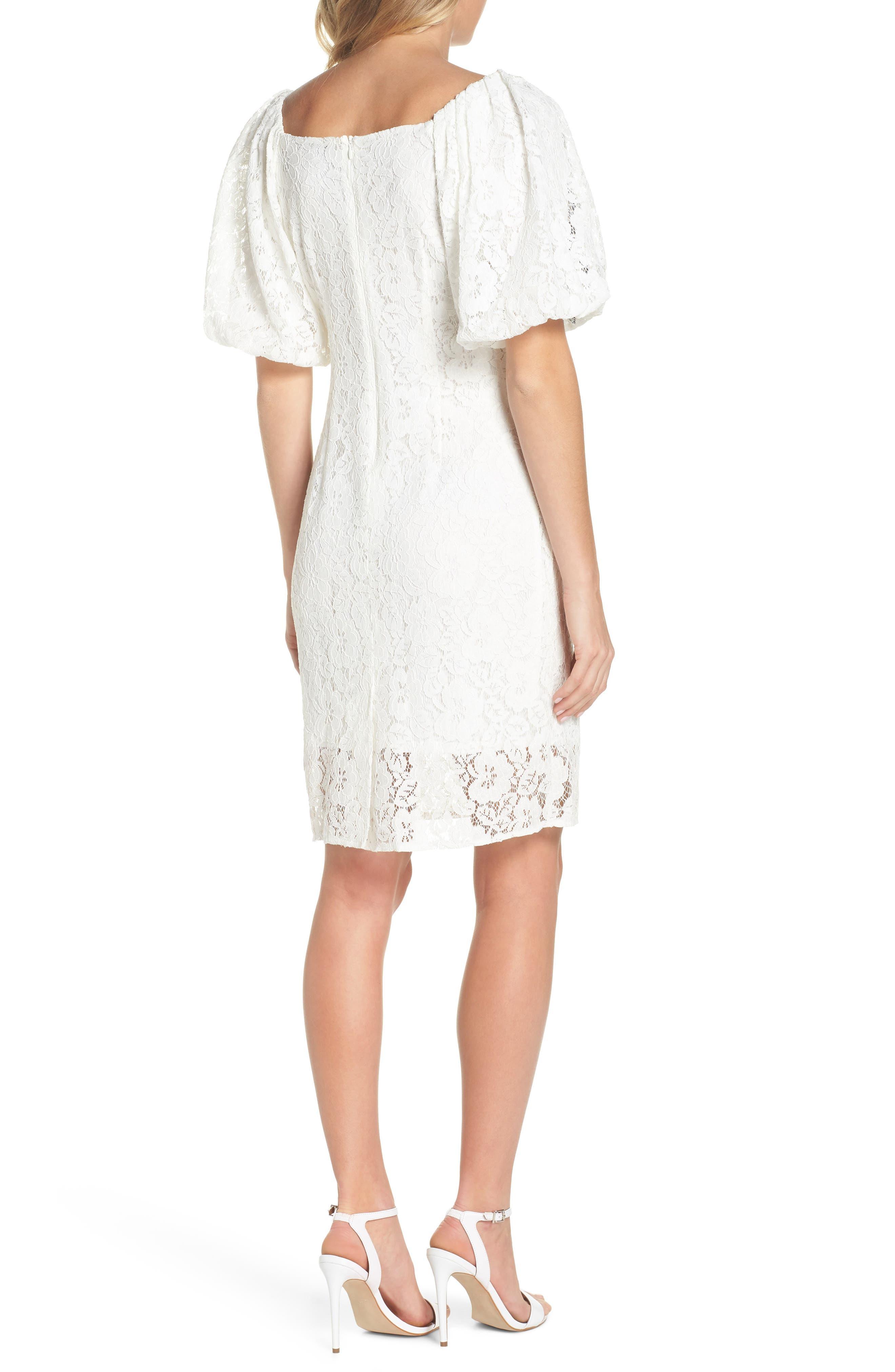 Lace Sheath Dress,                             Alternate thumbnail 2, color,                             120