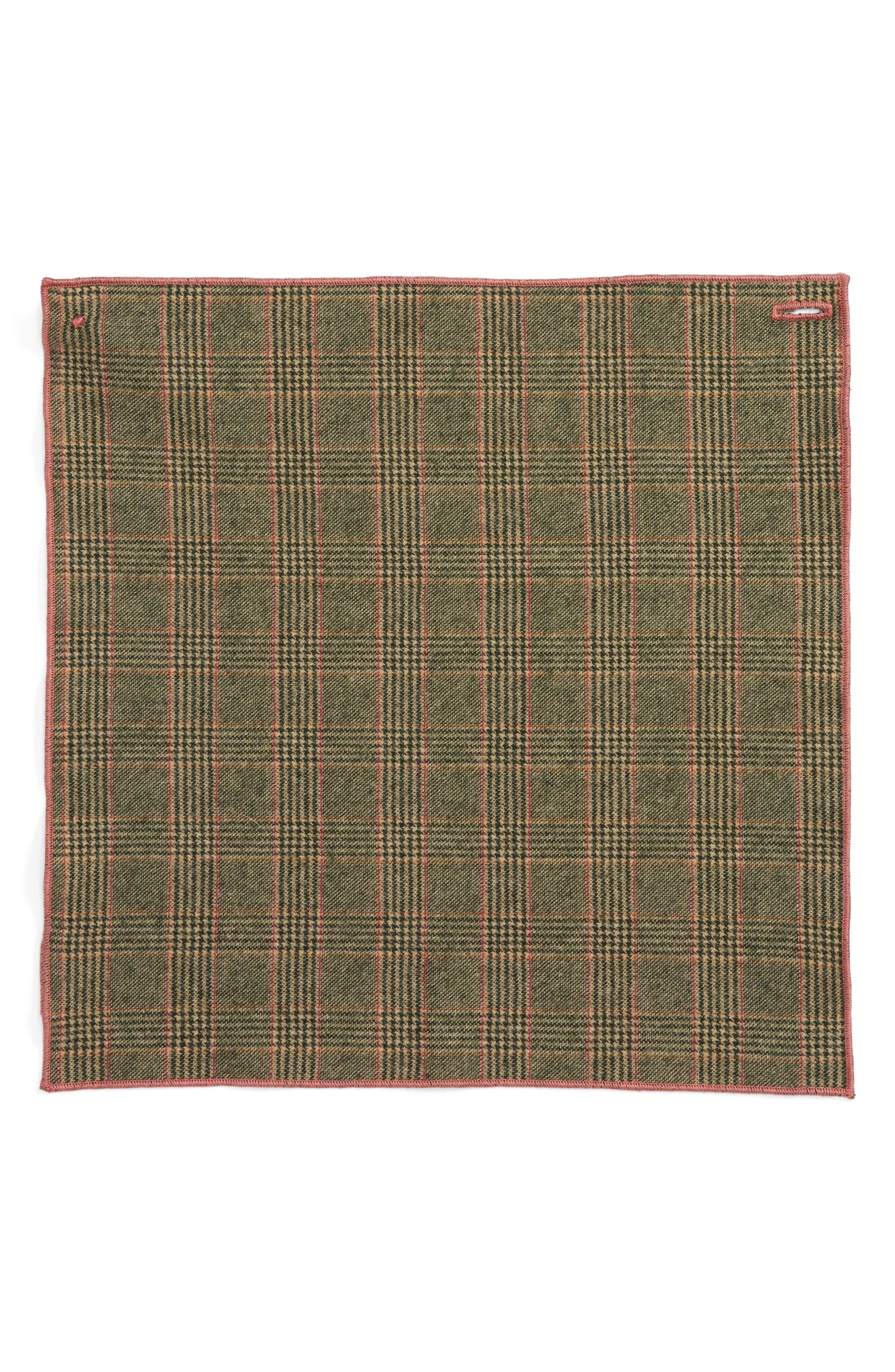 Goblin Wool Pocket Square,                             Alternate thumbnail 2, color,                             250