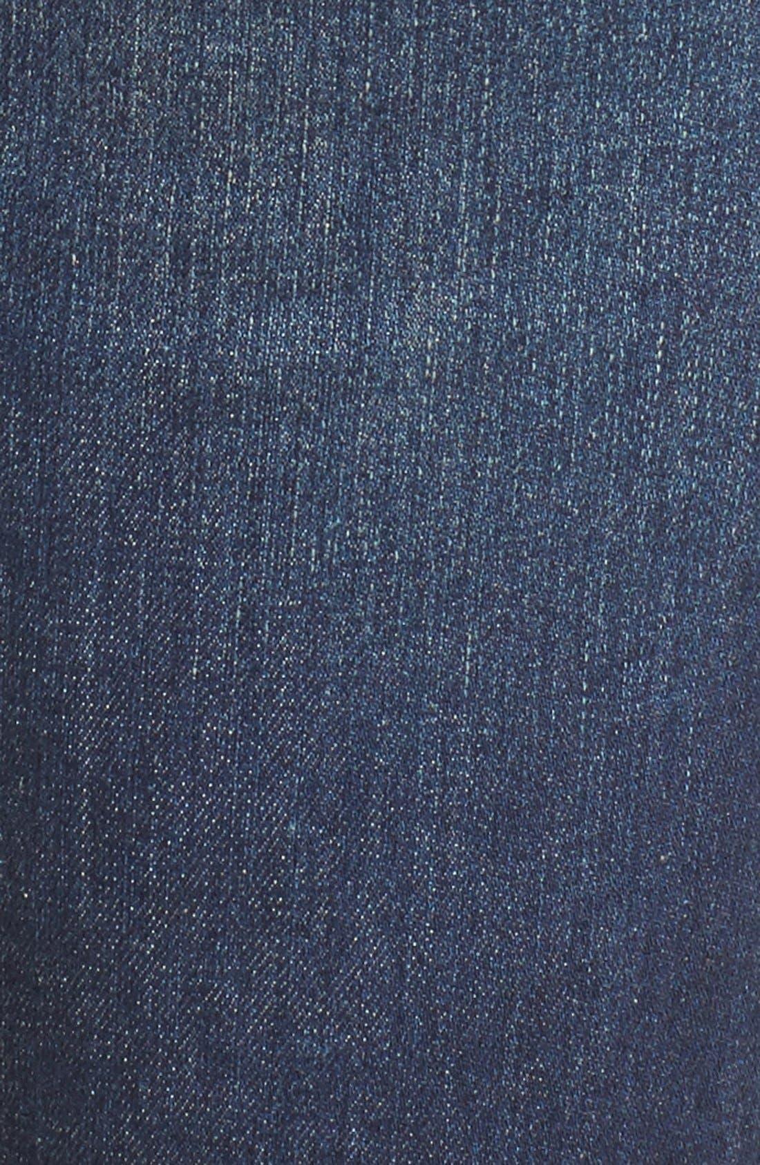 Rocket High Waist Crop Skinny Jeans,                             Alternate thumbnail 6, color,                             410