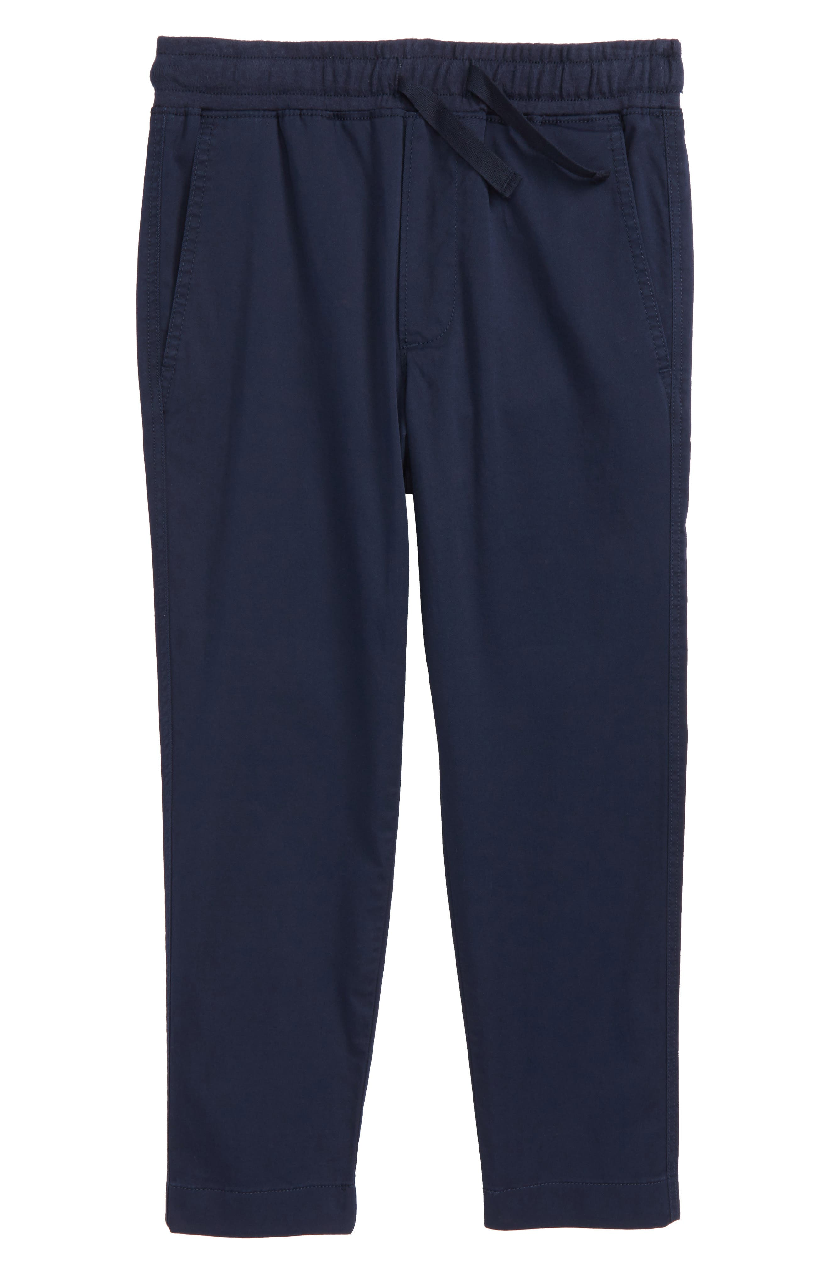 CREWCUTS BY J.CREW Pull On Pants, Main, color, INDIGO