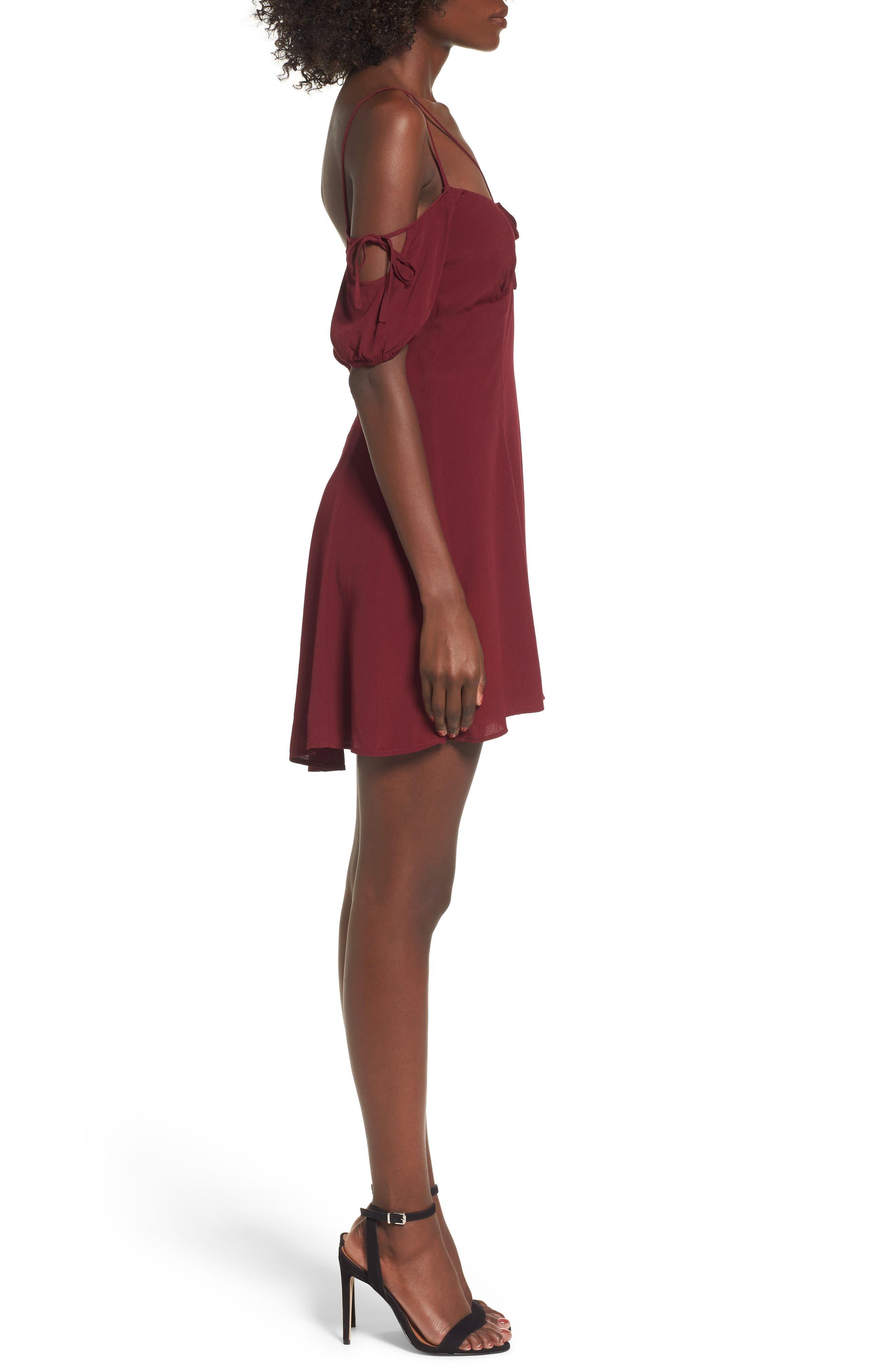 Whisper Minidress,                             Alternate thumbnail 3, color,                             930