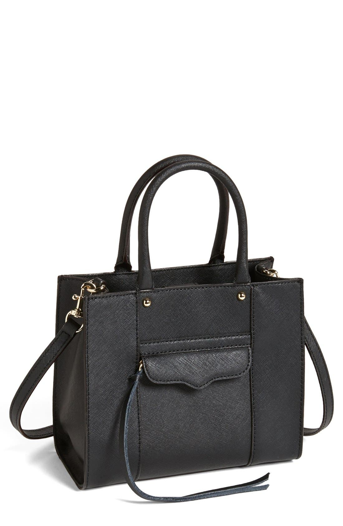 'Mini MAB Tote' Crossbody Bag,                             Main thumbnail 3, color,