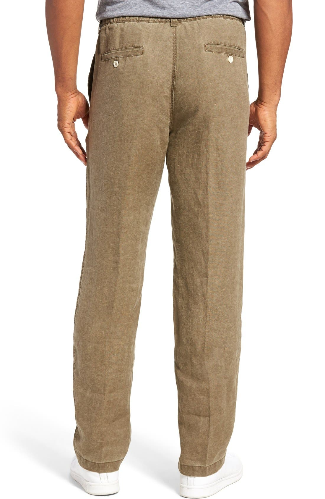 'New Linen on the Beach' Easy Fit Pants,                             Alternate thumbnail 13, color,