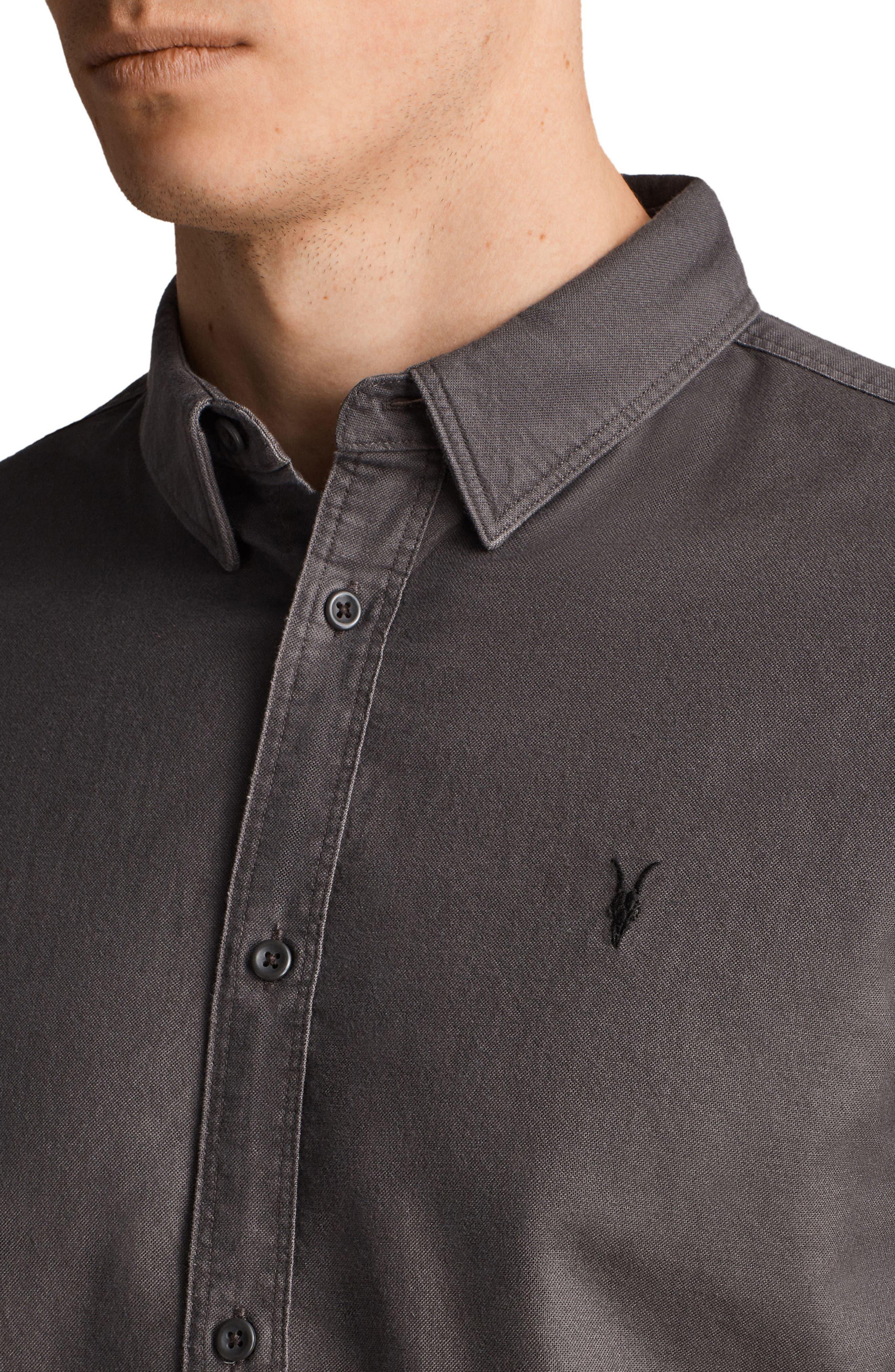 Huntington Regular Fit Short Sleeve Sport Shirt,                             Alternate thumbnail 17, color,