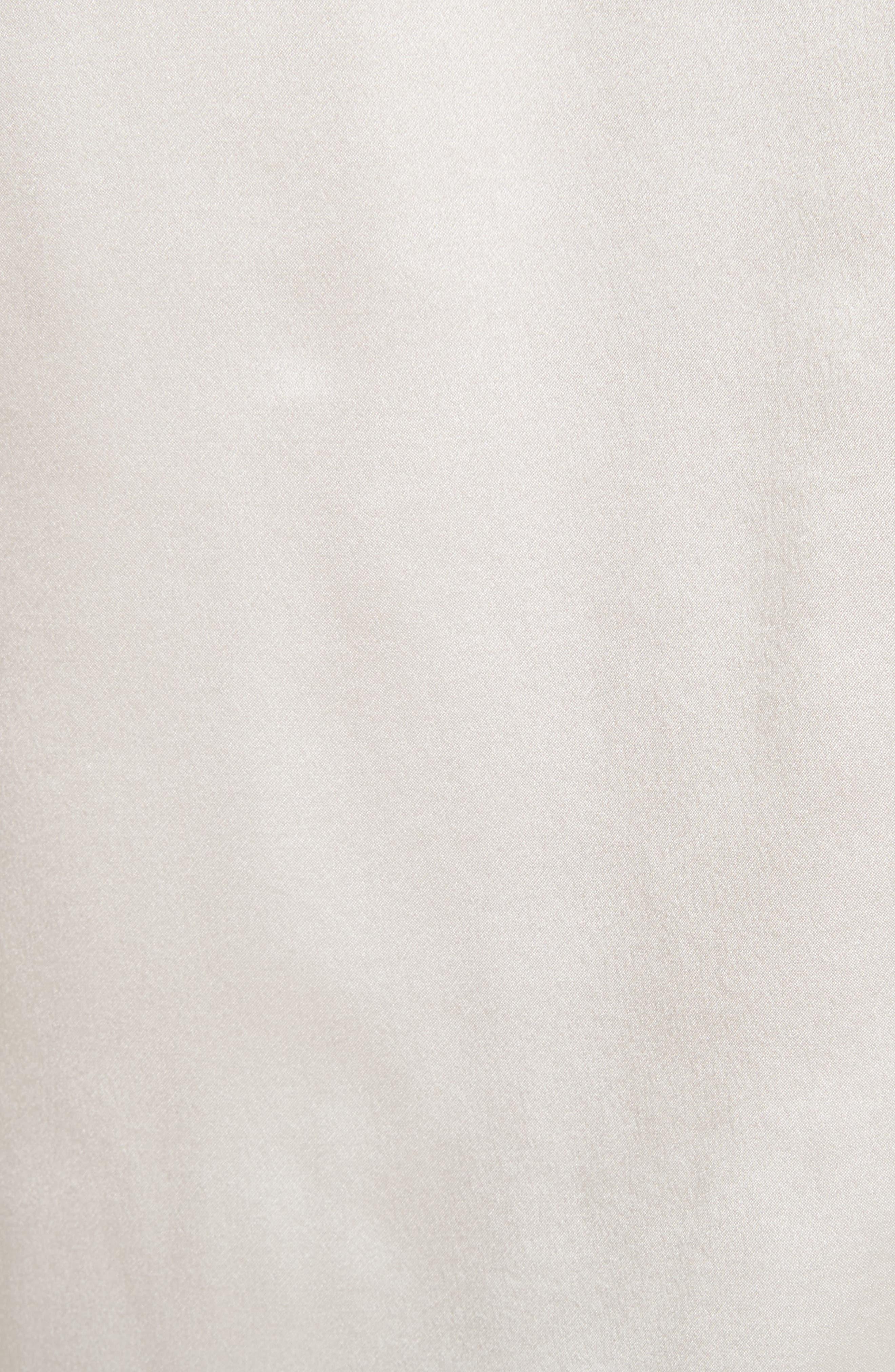 Cassanova Tie Neck Silk Blouse,                             Alternate thumbnail 5, color,                             112