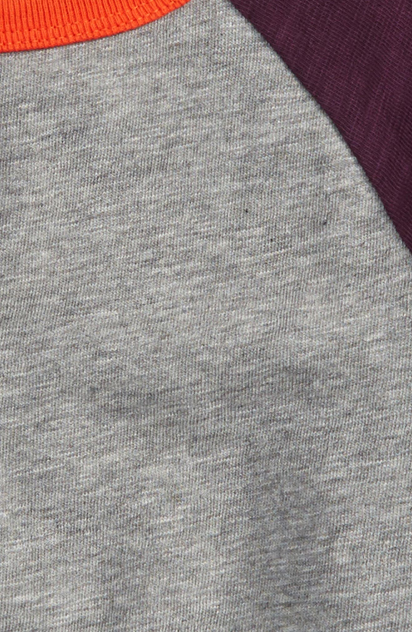Raglan Sleeve T-Shirt,                             Alternate thumbnail 2, color,                             062