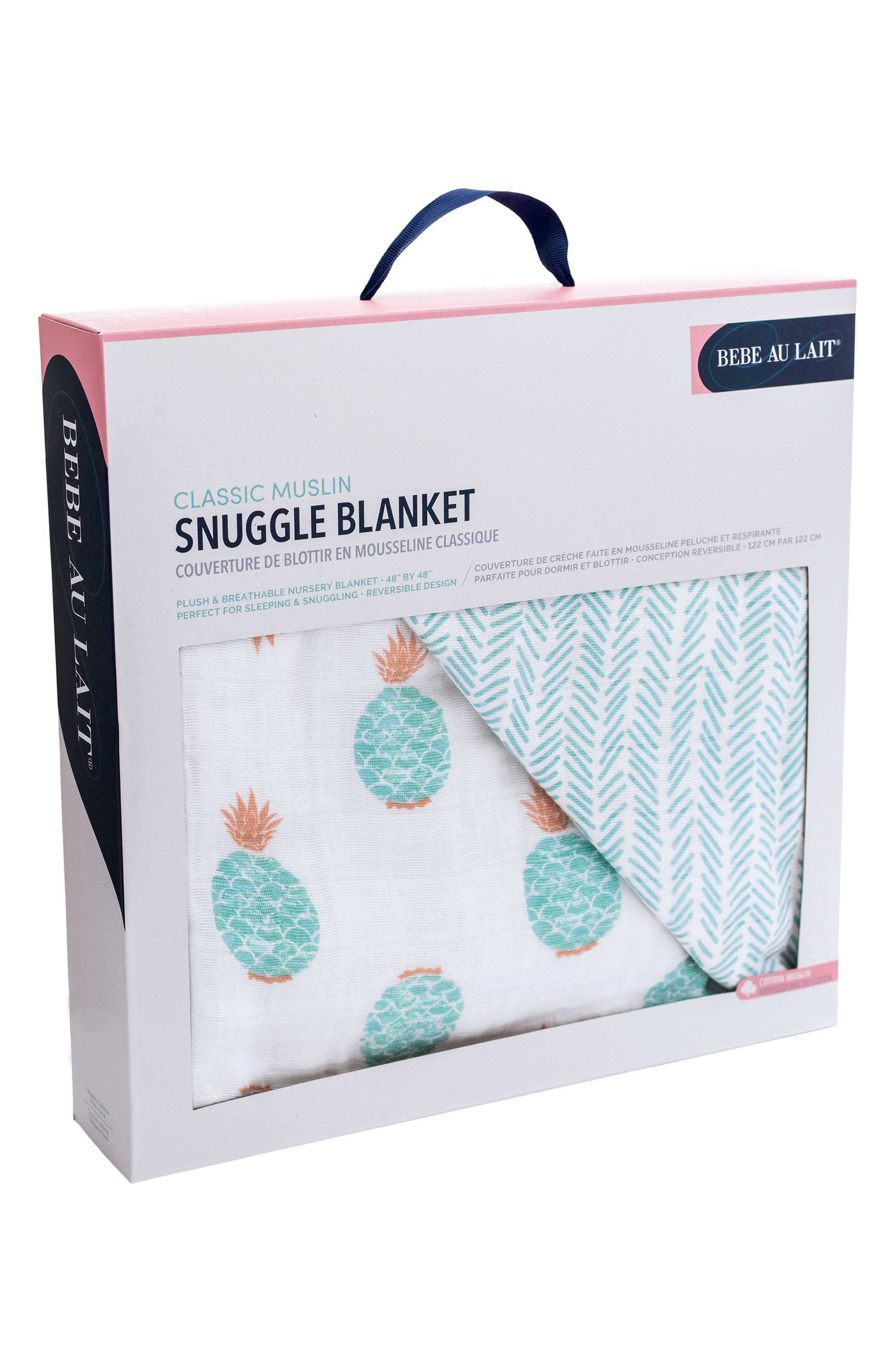 Cotton Muslin Blanket,                             Alternate thumbnail 2, color,                             340