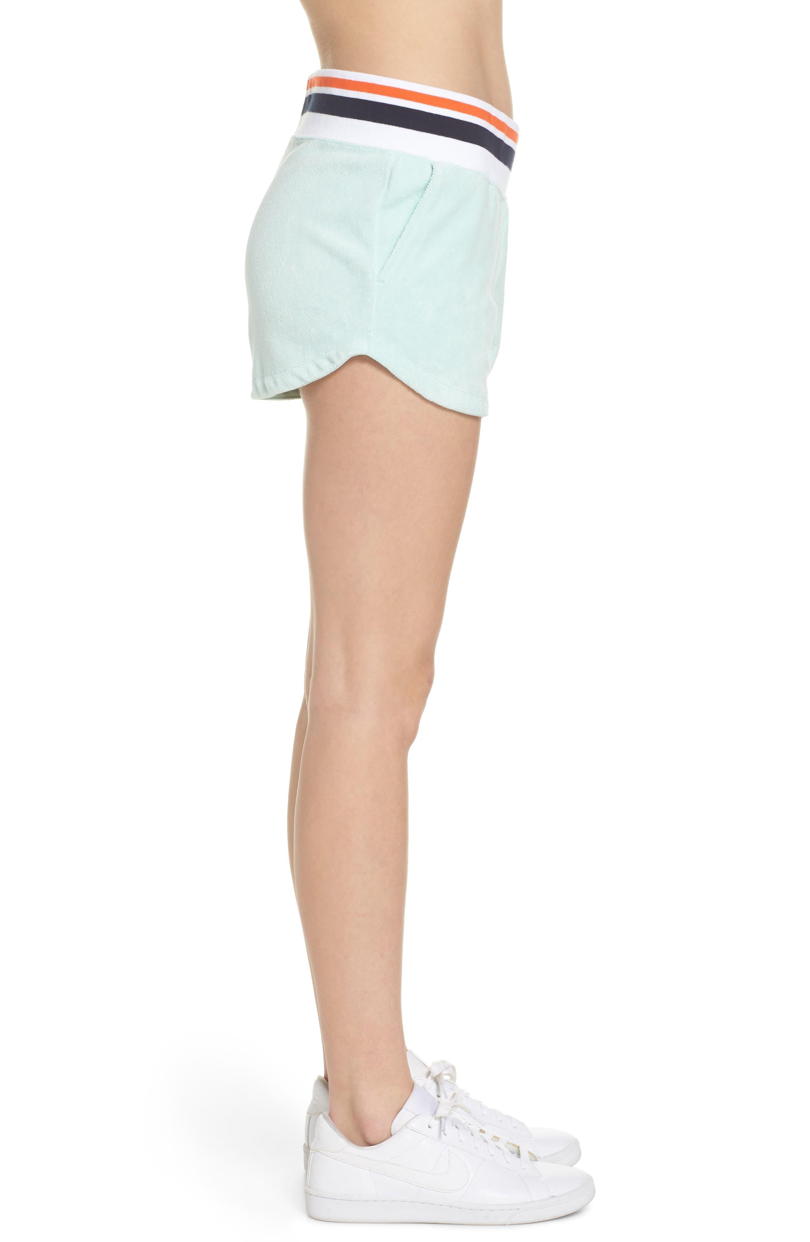 NIKE,                             Sportswear Terry Shorts,                             Alternate thumbnail 3, color,                             401