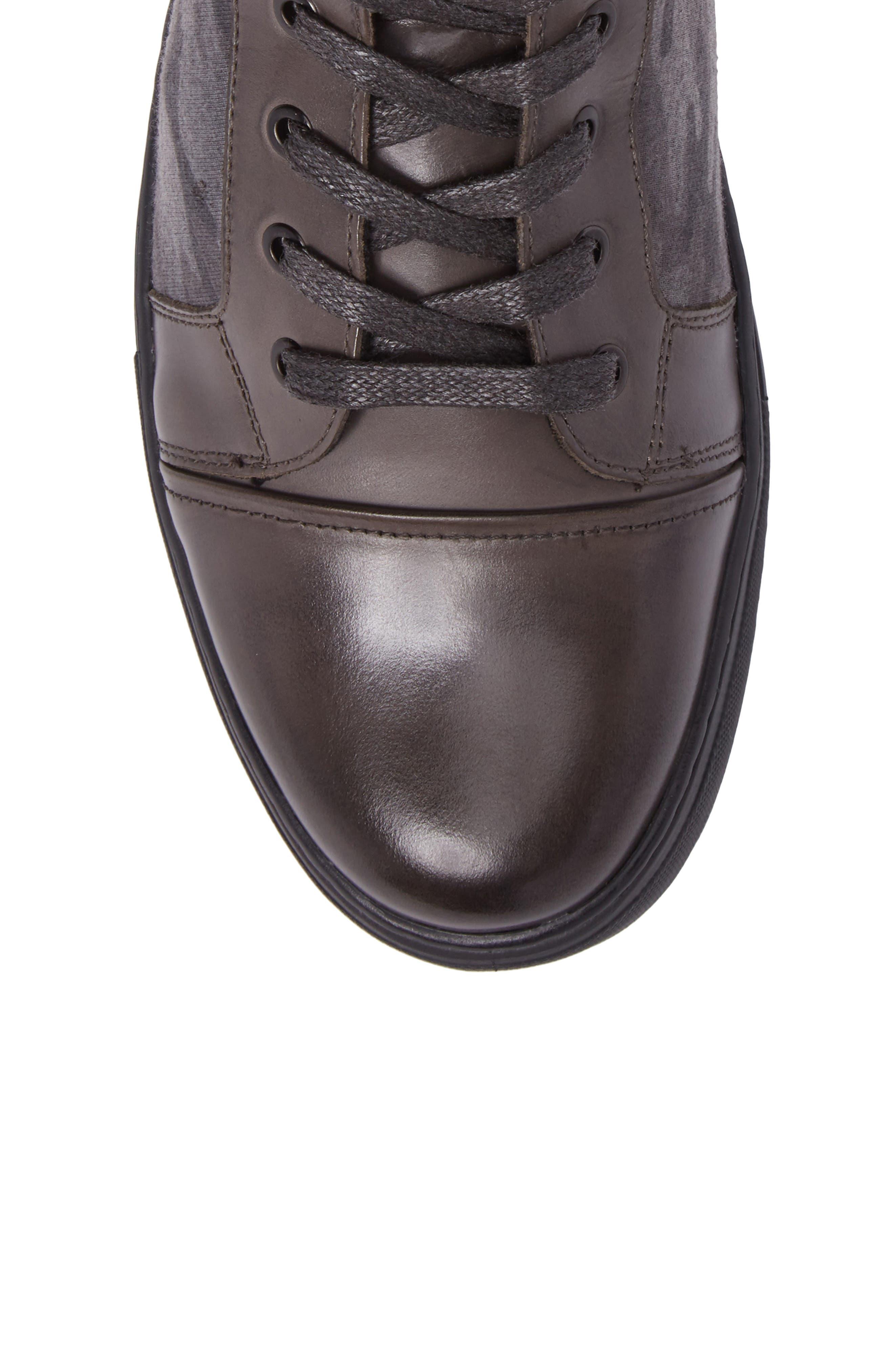 Double Header Sneaker,                             Alternate thumbnail 5, color,                             020