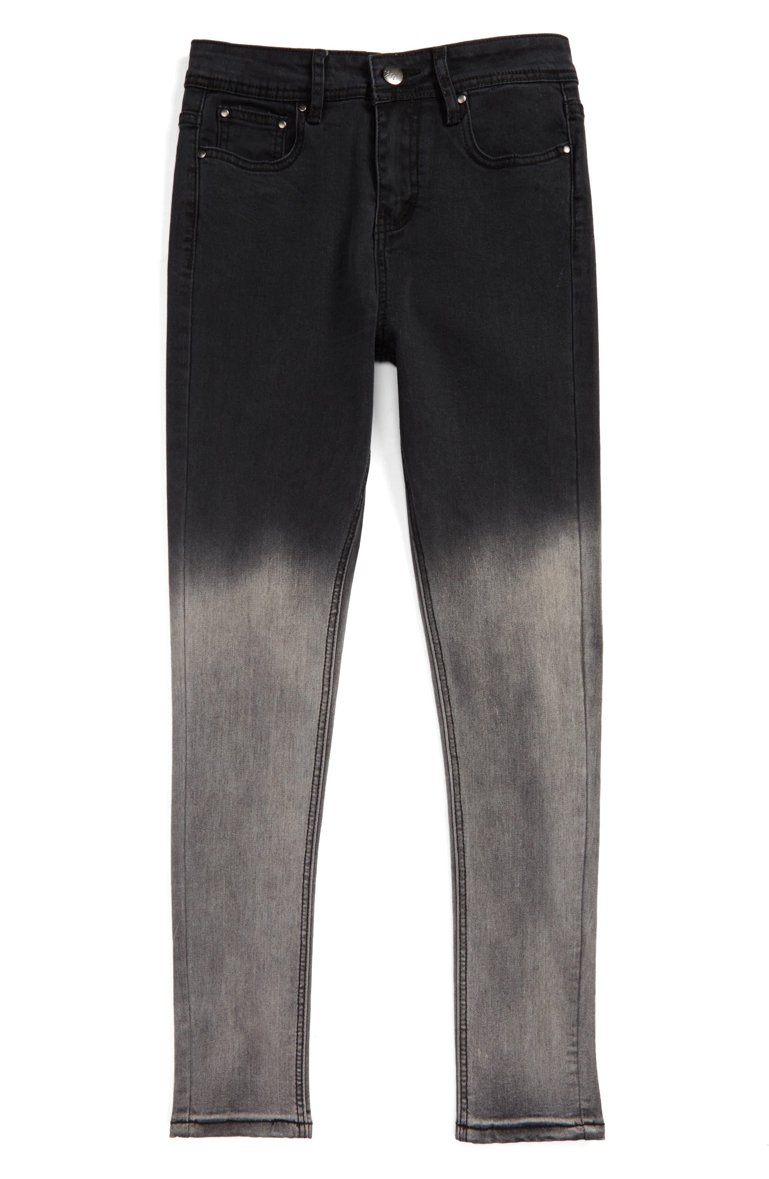 Ombré Skinny Jeans,                             Main thumbnail 1, color,