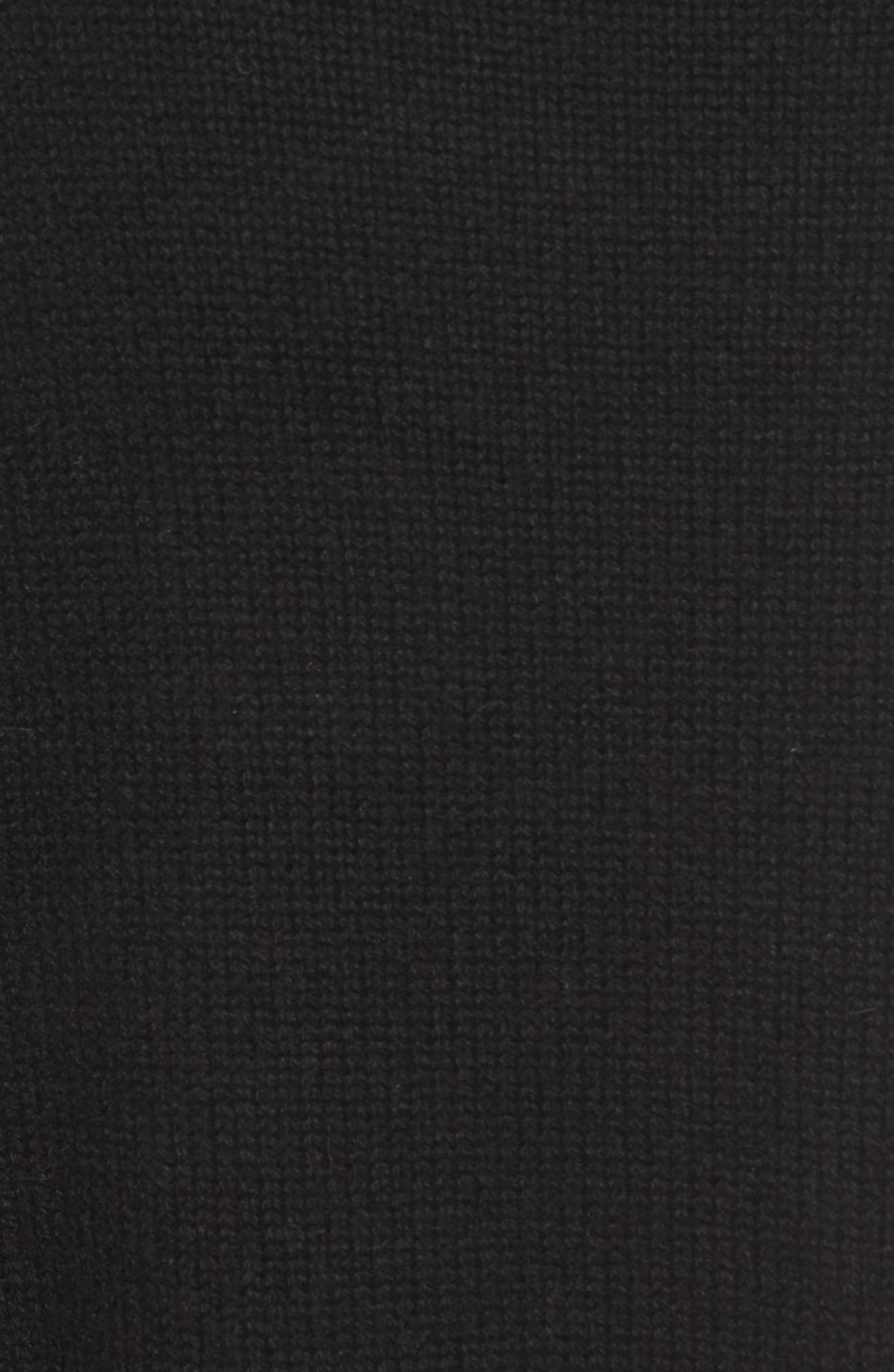 Karenia R Cashmere Sweater,                             Alternate thumbnail 5, color,                             001
