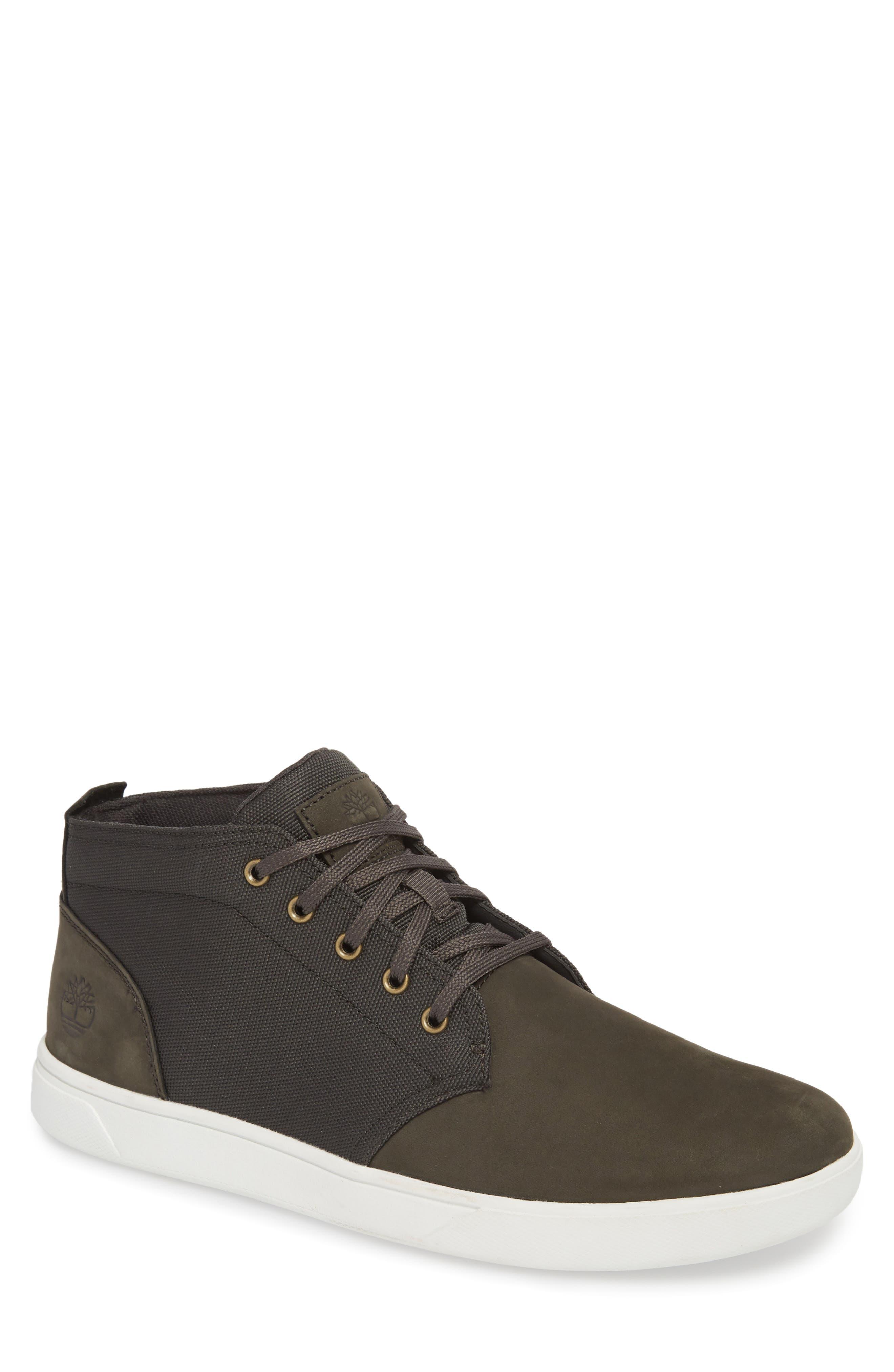 Earthkeepers<sup>™</sup> 'Groveton' Chukka Sneaker,                         Main,                         color, DARK GREEN NUBUCK