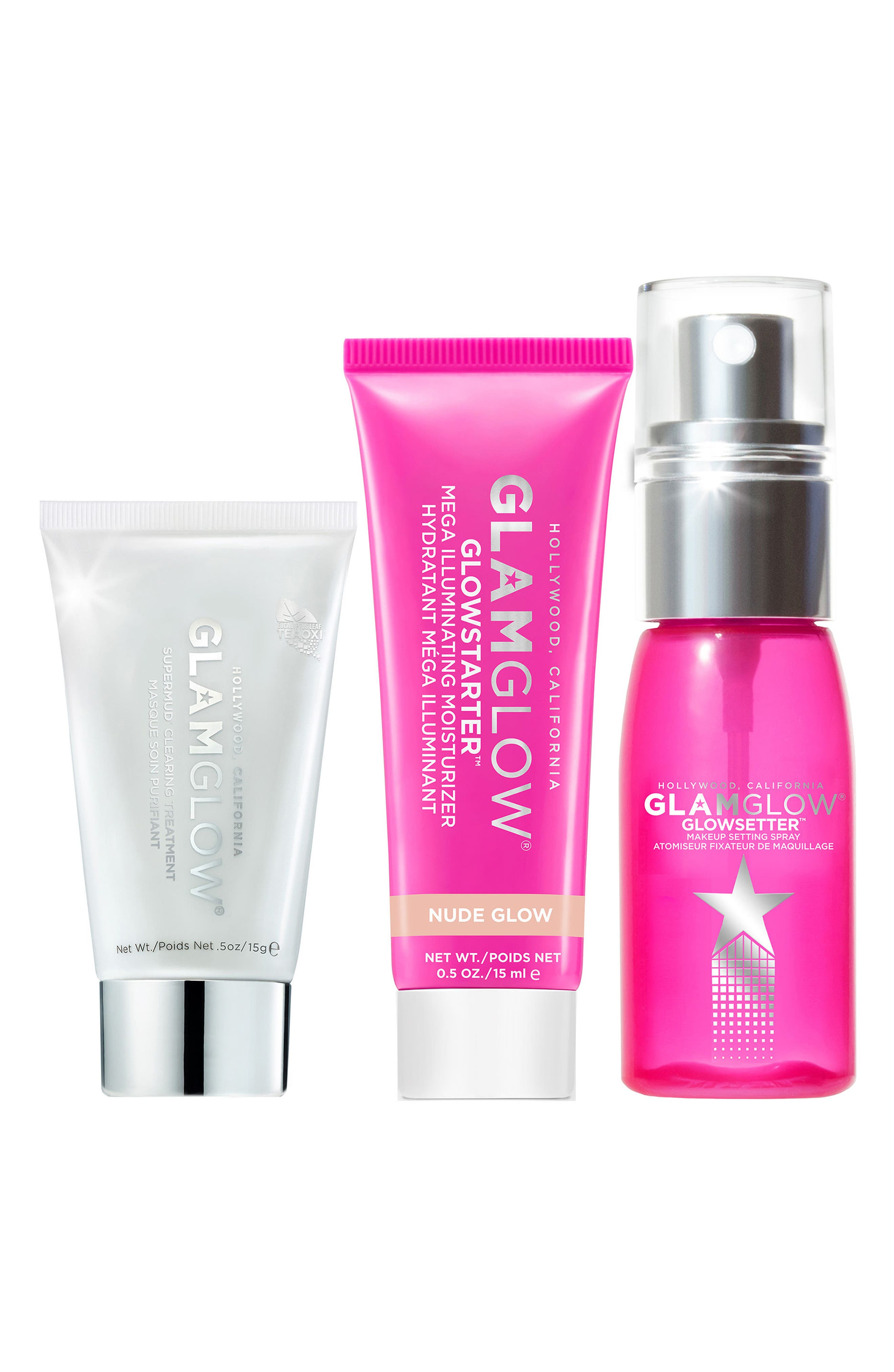 GLAMGLOW Let it Glow! Travel Set,                         Main,                         color, 000