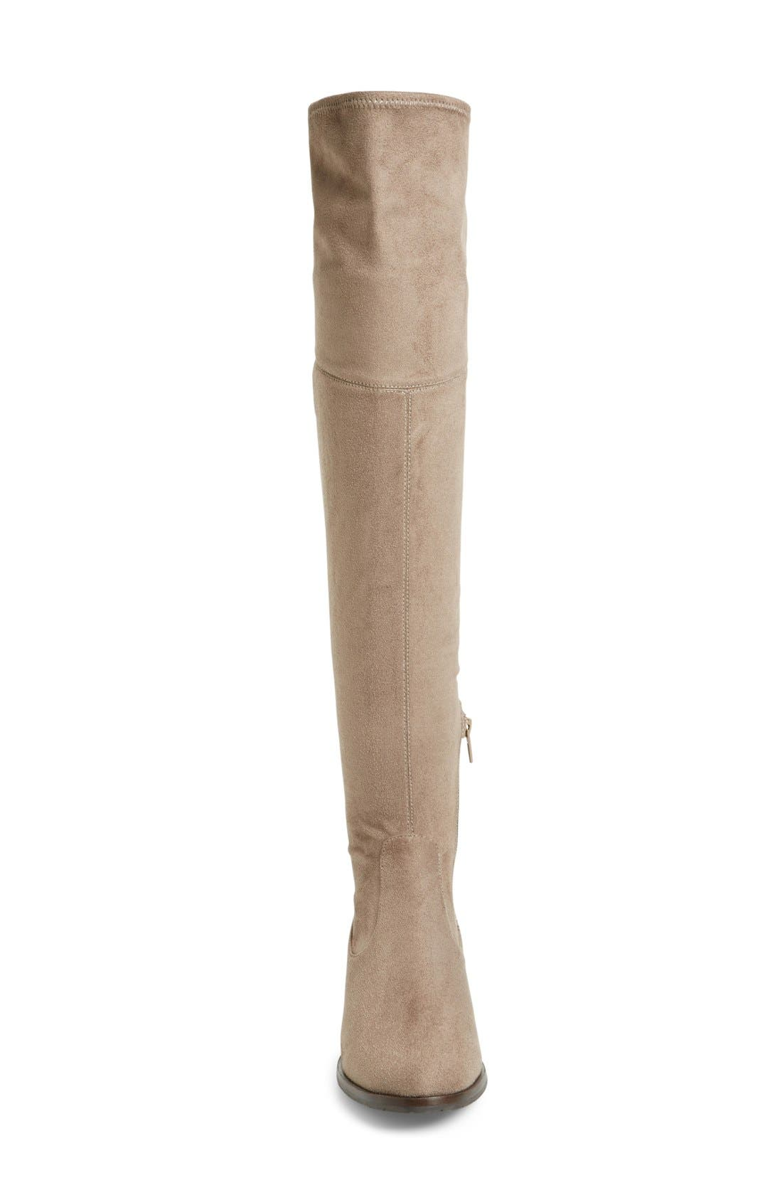 'Livi' Faux Suede Over the Knee Boot,                             Alternate thumbnail 2, color,                             250