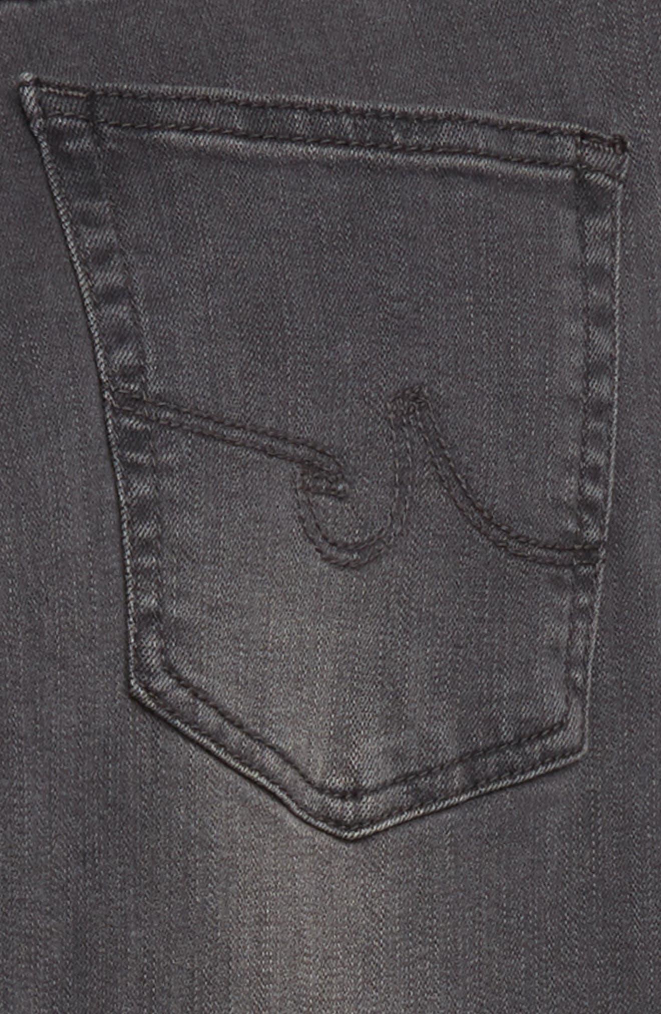 adriano goldschmied kids The Kingston Slim Jeans,                             Alternate thumbnail 3, color,                             FOG GREY
