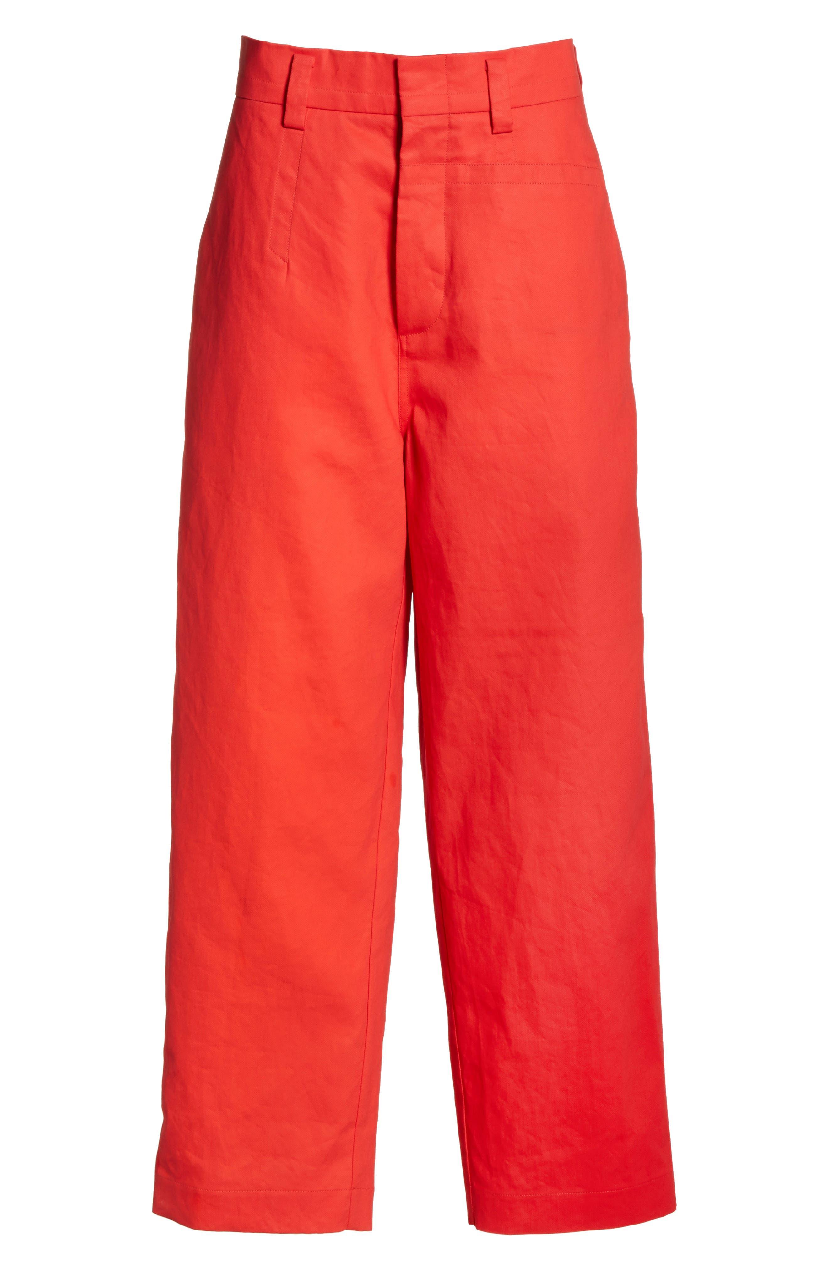 Straight Leg Pants,                             Alternate thumbnail 6, color,                             600