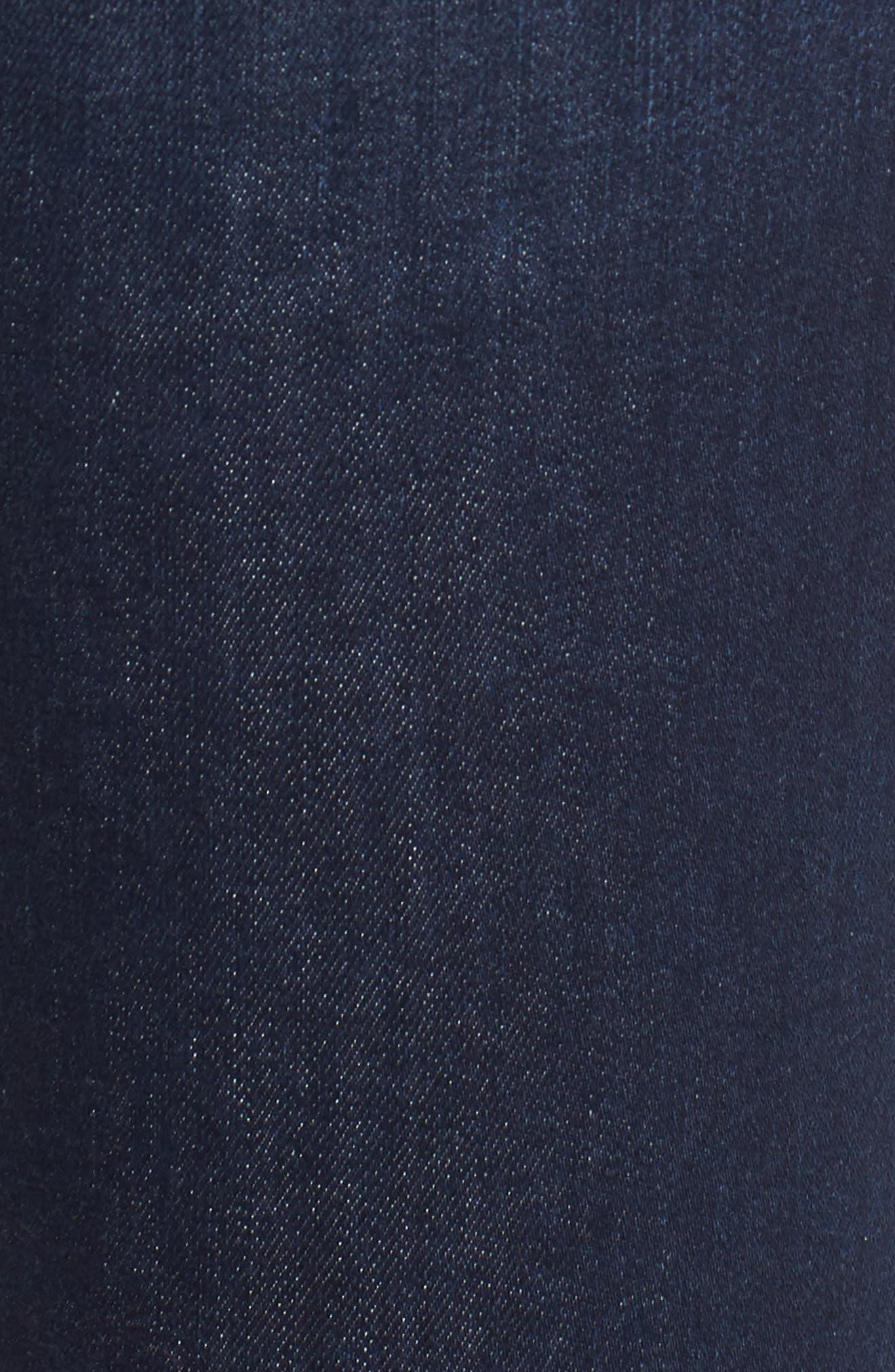 Skinny Jeans,                             Alternate thumbnail 6, color,                             DARK SOFT