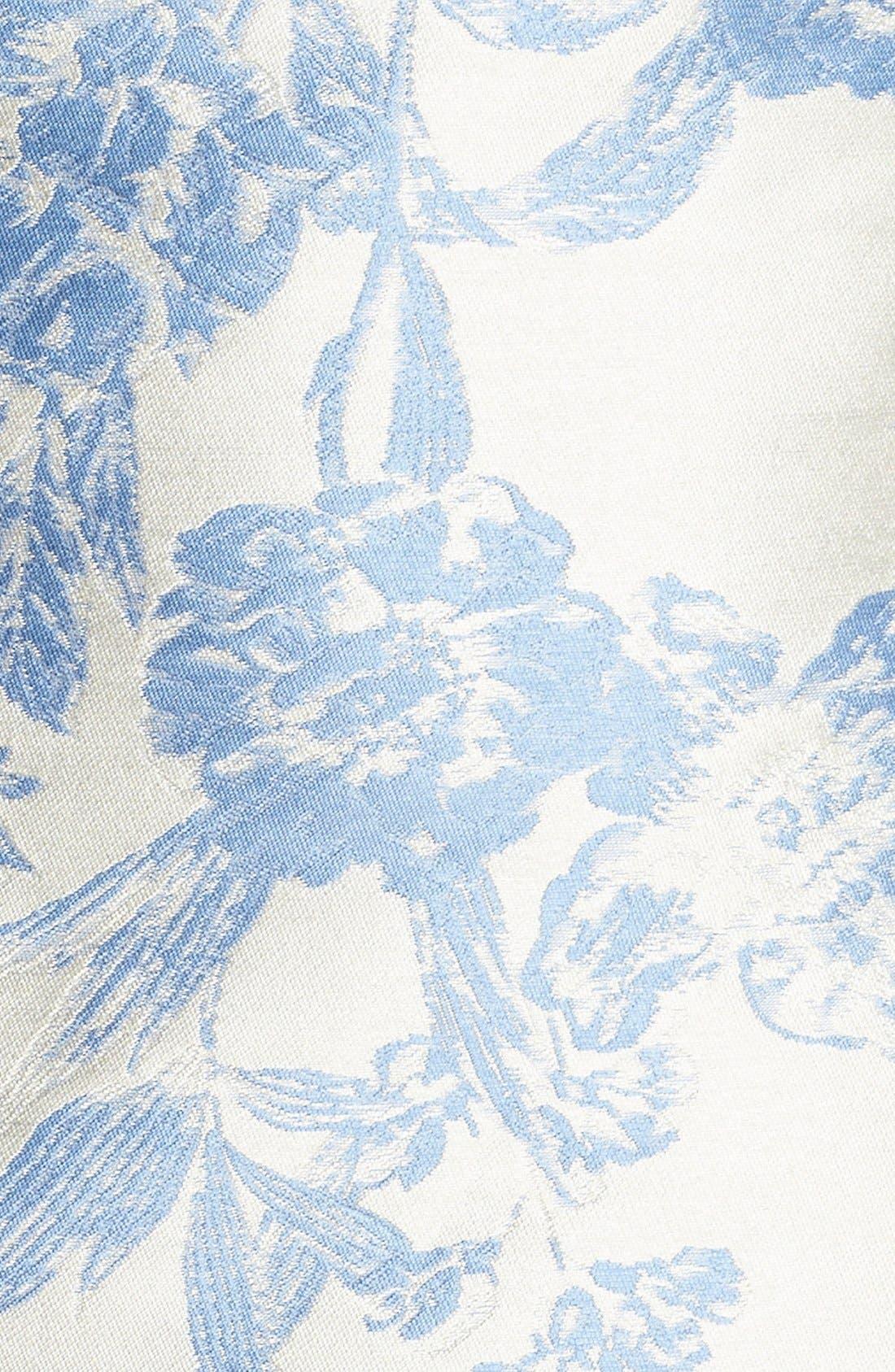 Jacquard A-Line Dress,                             Alternate thumbnail 2, color,                             423