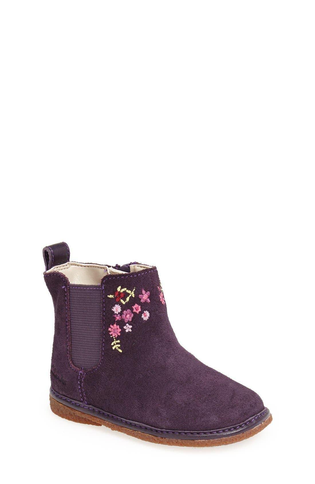 'Flora West' Chelsea Boot,                             Main thumbnail 1, color,                             503