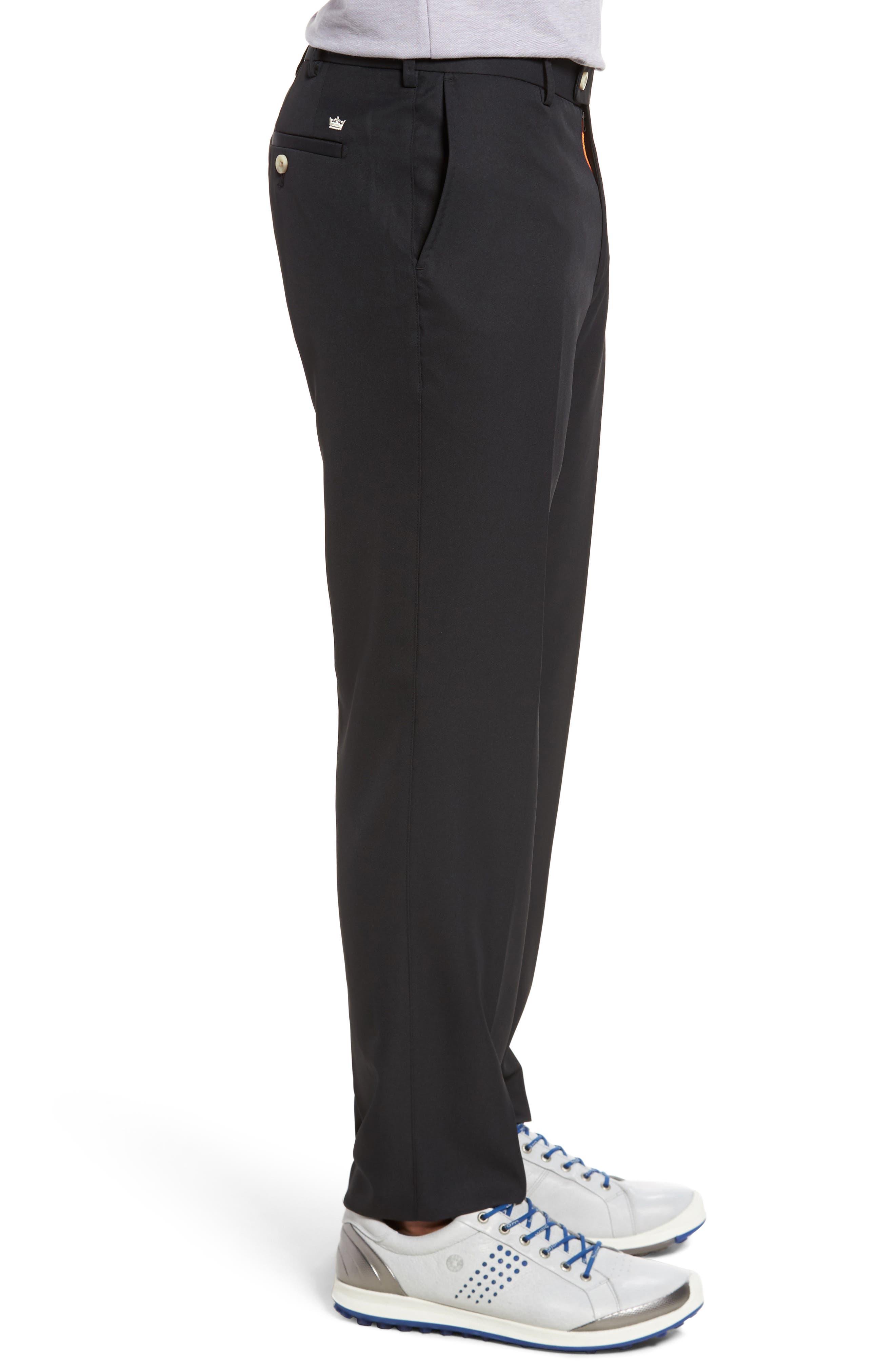 Durham High Drape Performance Pants,                             Alternate thumbnail 3, color,                             001