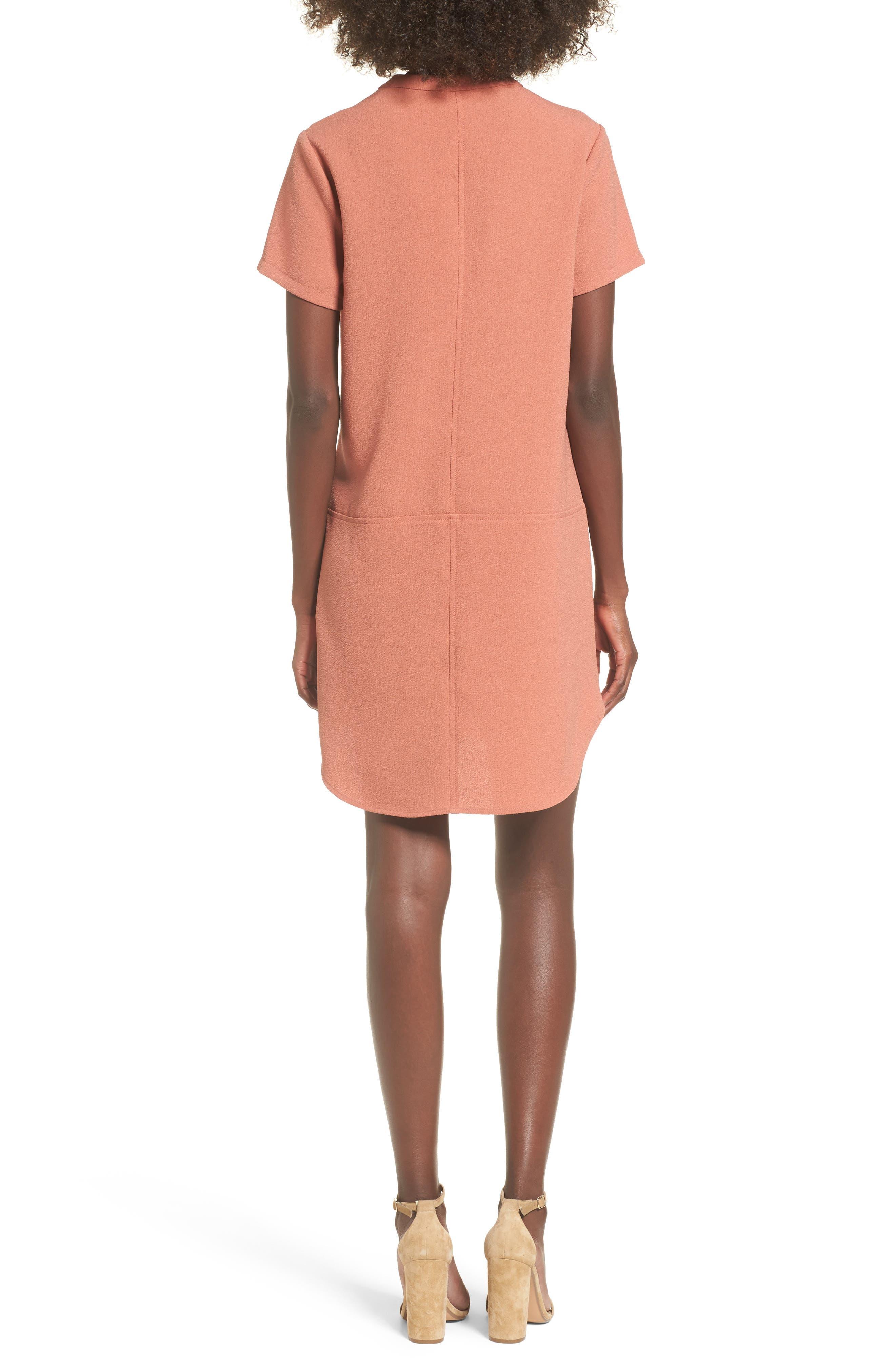 Hailey Crepe Dress,                             Alternate thumbnail 54, color,