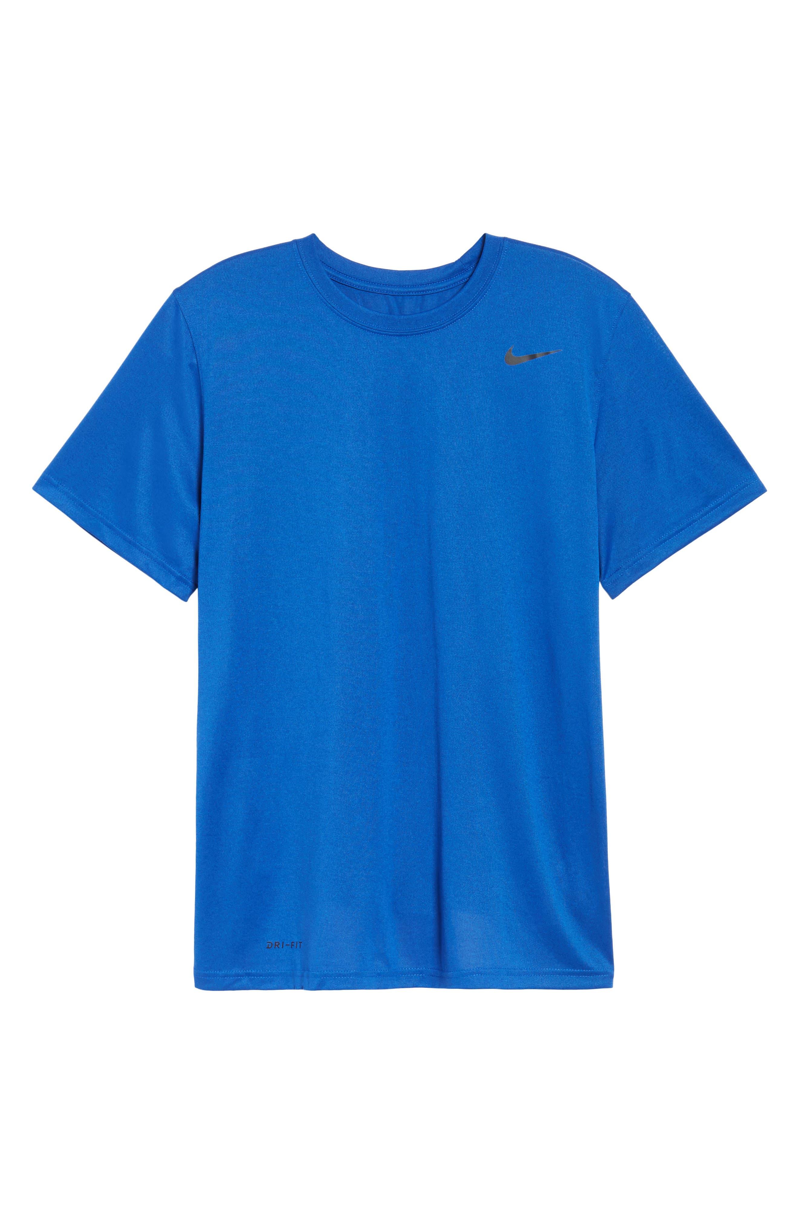 'Legend 2.0' Dri-FIT Training T-Shirt,                             Alternate thumbnail 5, color,                             GAME ROYAL/ BLACK/ BLACK