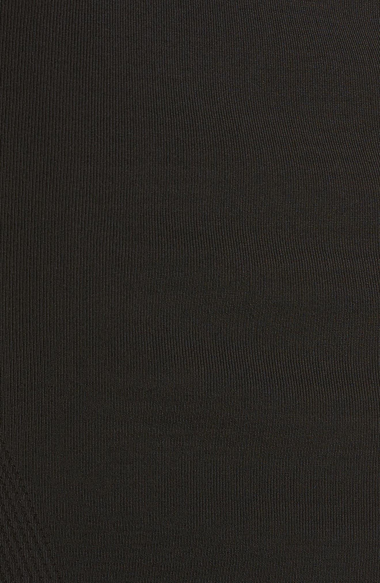 Sweater Pencil Skirt,                             Alternate thumbnail 5, color,                             001