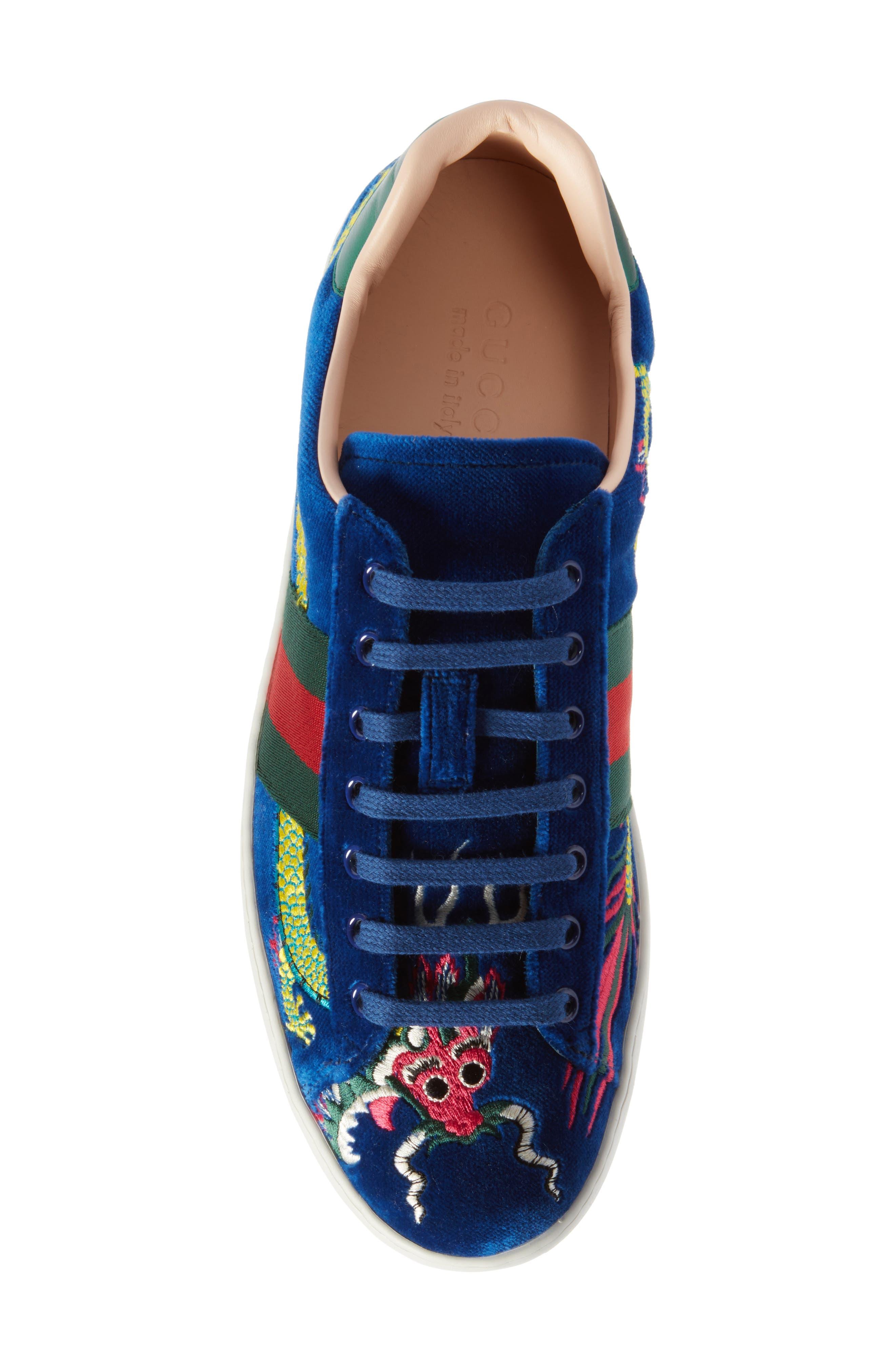 New Ace Dragon Sneaker,                             Alternate thumbnail 5, color,                             493