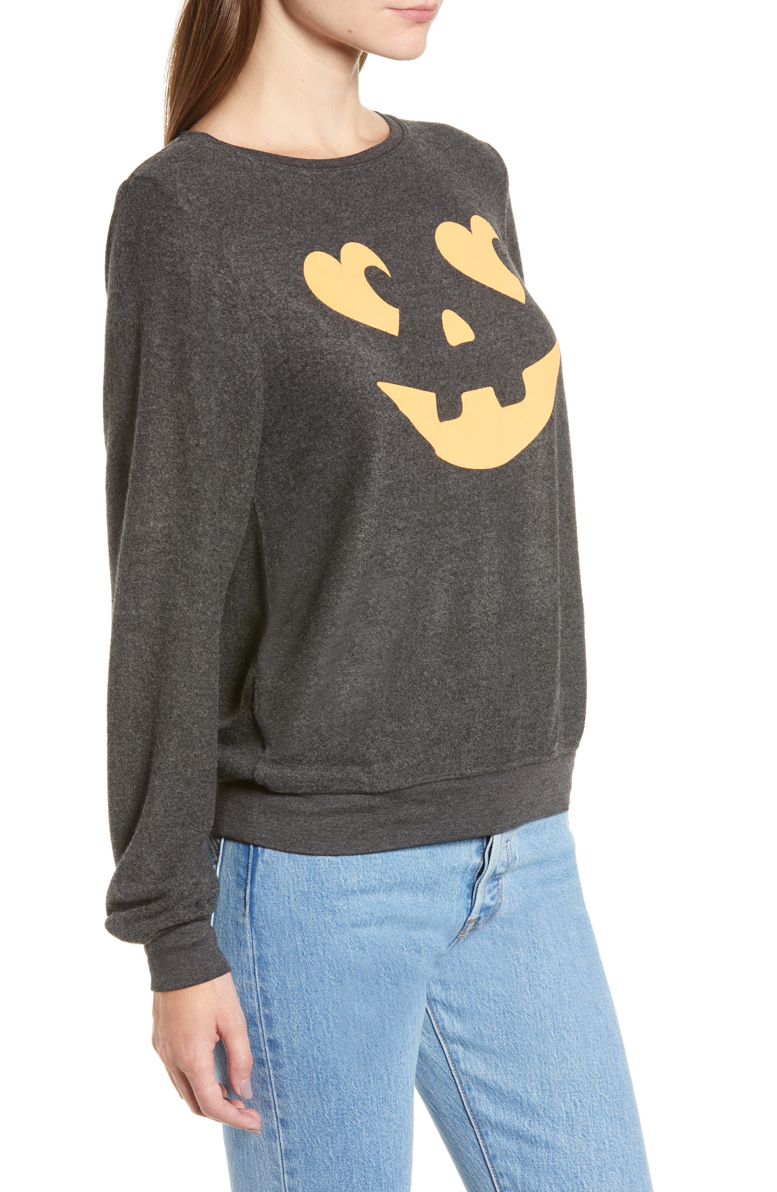 Jack O' Hearts Baggy Beach Jumper Pullover,                             Alternate thumbnail 3, color,                             020