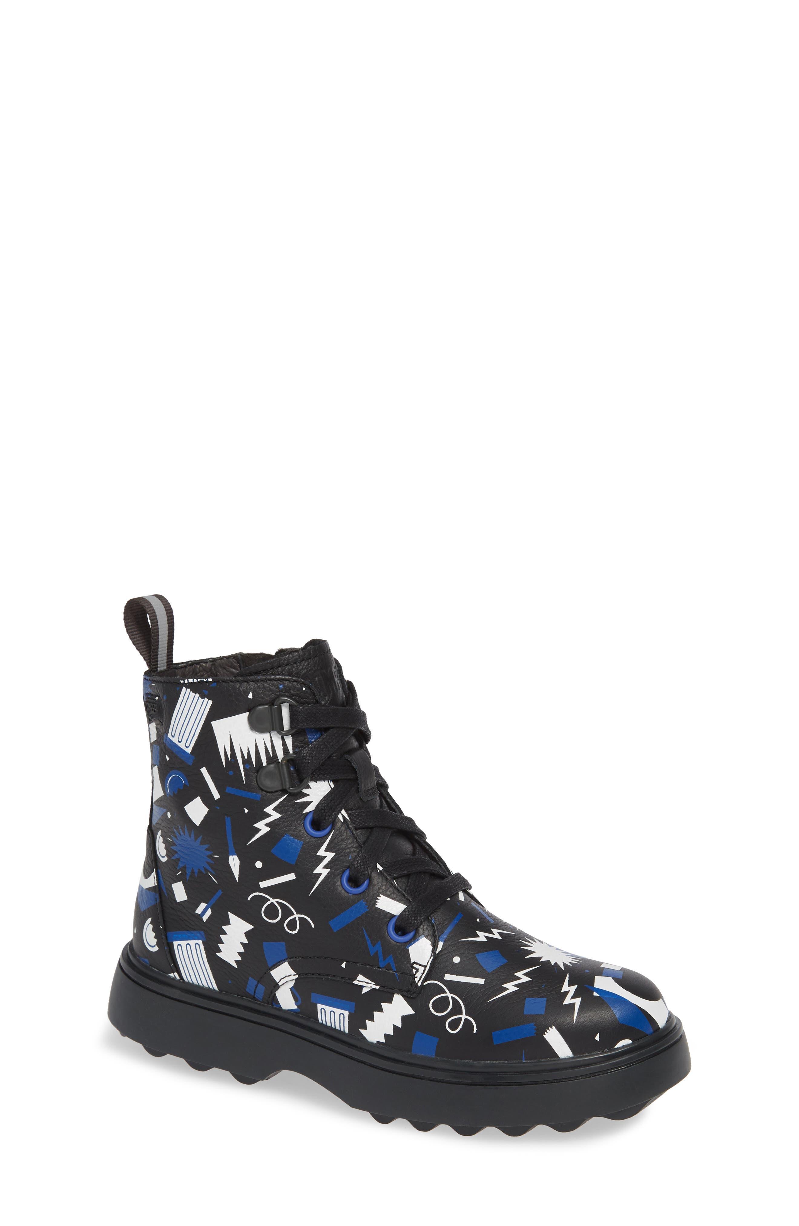 Norte Boot,                         Main,                         color, BLACK MULTI