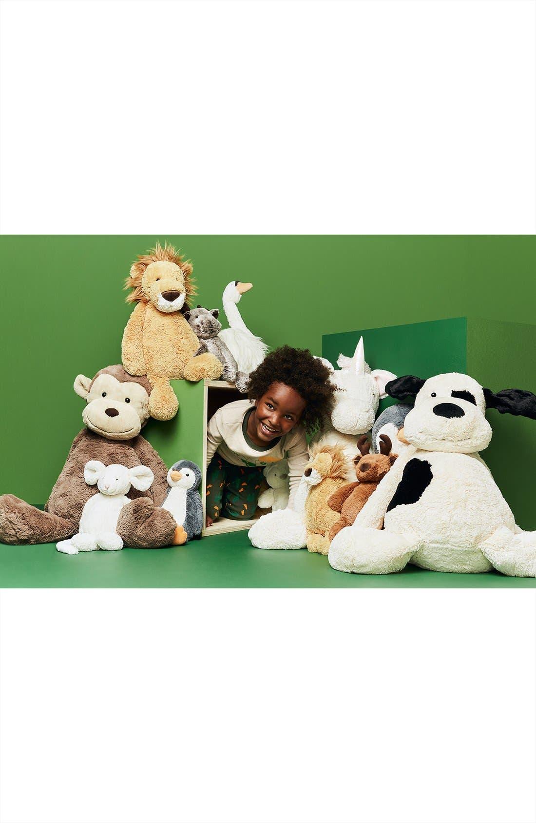 'Really Big Bashful Monkey' Stuffed Animal,                             Alternate thumbnail 3, color,                             BROWN