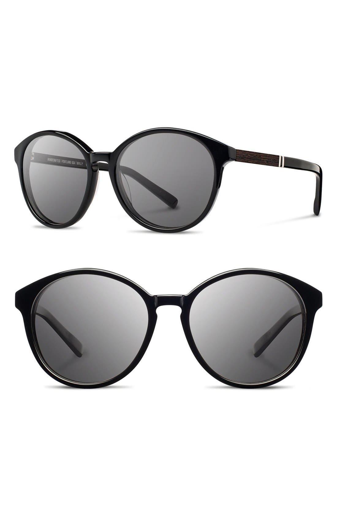 'Bailey' 53mm Round Sunglasses,                             Main thumbnail 2, color,