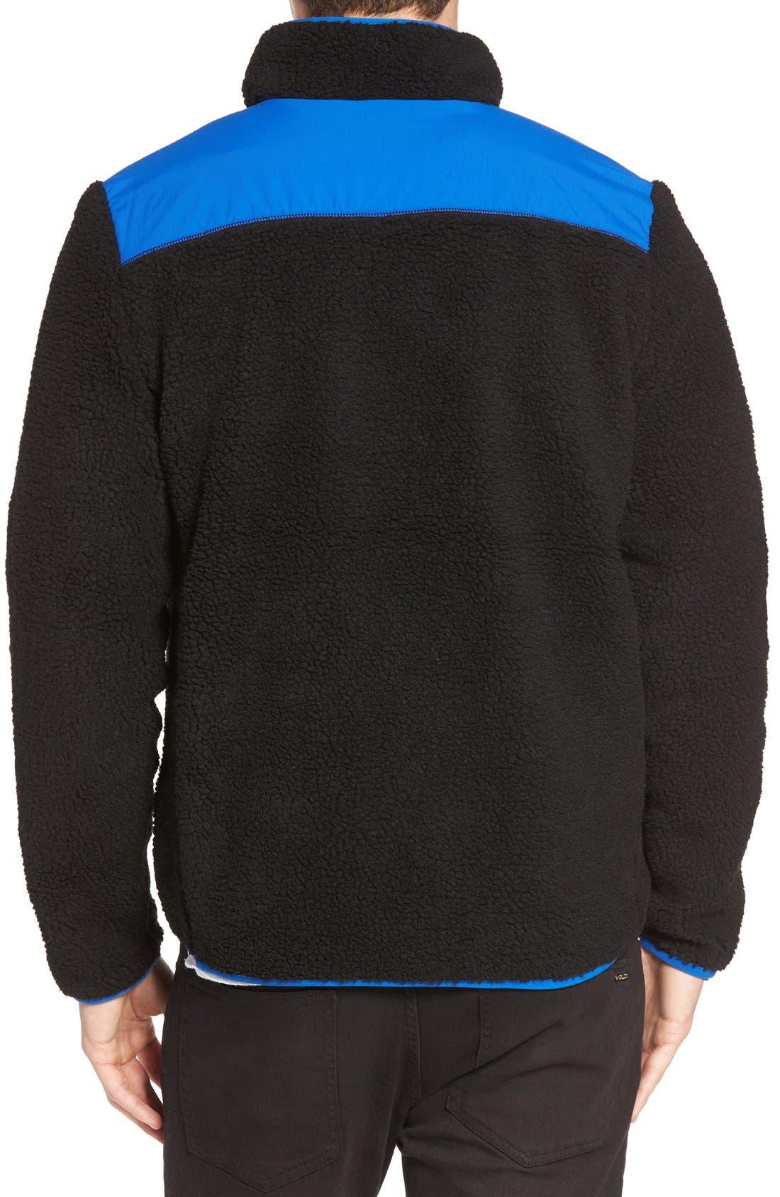 Mattawa Zip Fleece Jacket,                             Alternate thumbnail 5, color,                             001
