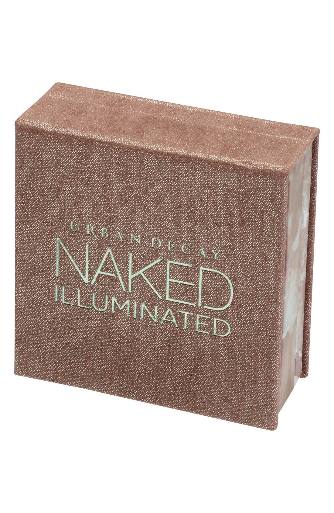Naked Illuminated Shimmering Powder for Face & Body,                             Main thumbnail 1, color,                             LUMINOUS