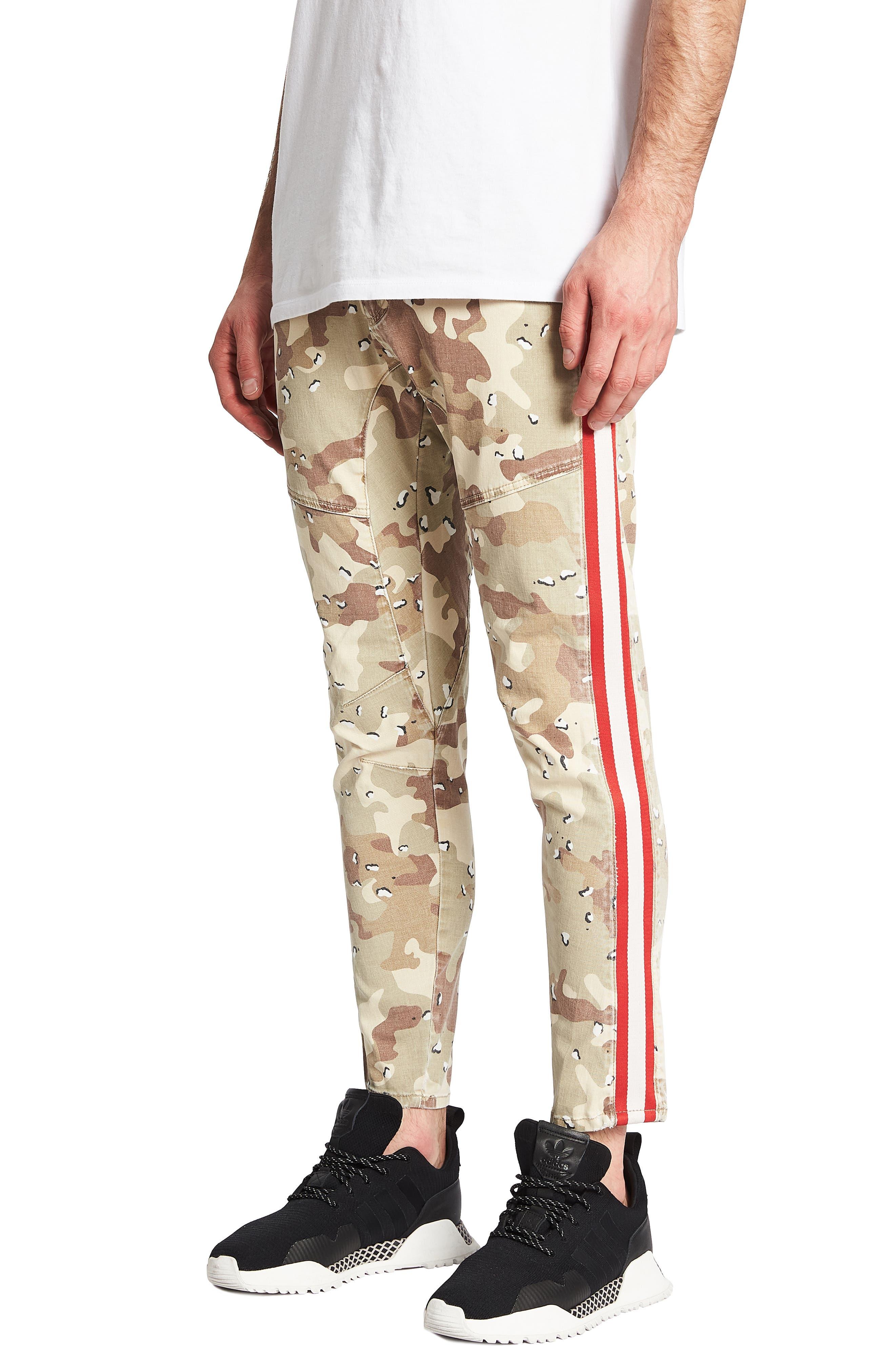 NXP,                             Sergeant Slim Fit Pants,                             Alternate thumbnail 4, color,                             CHOC CHIP CAMO