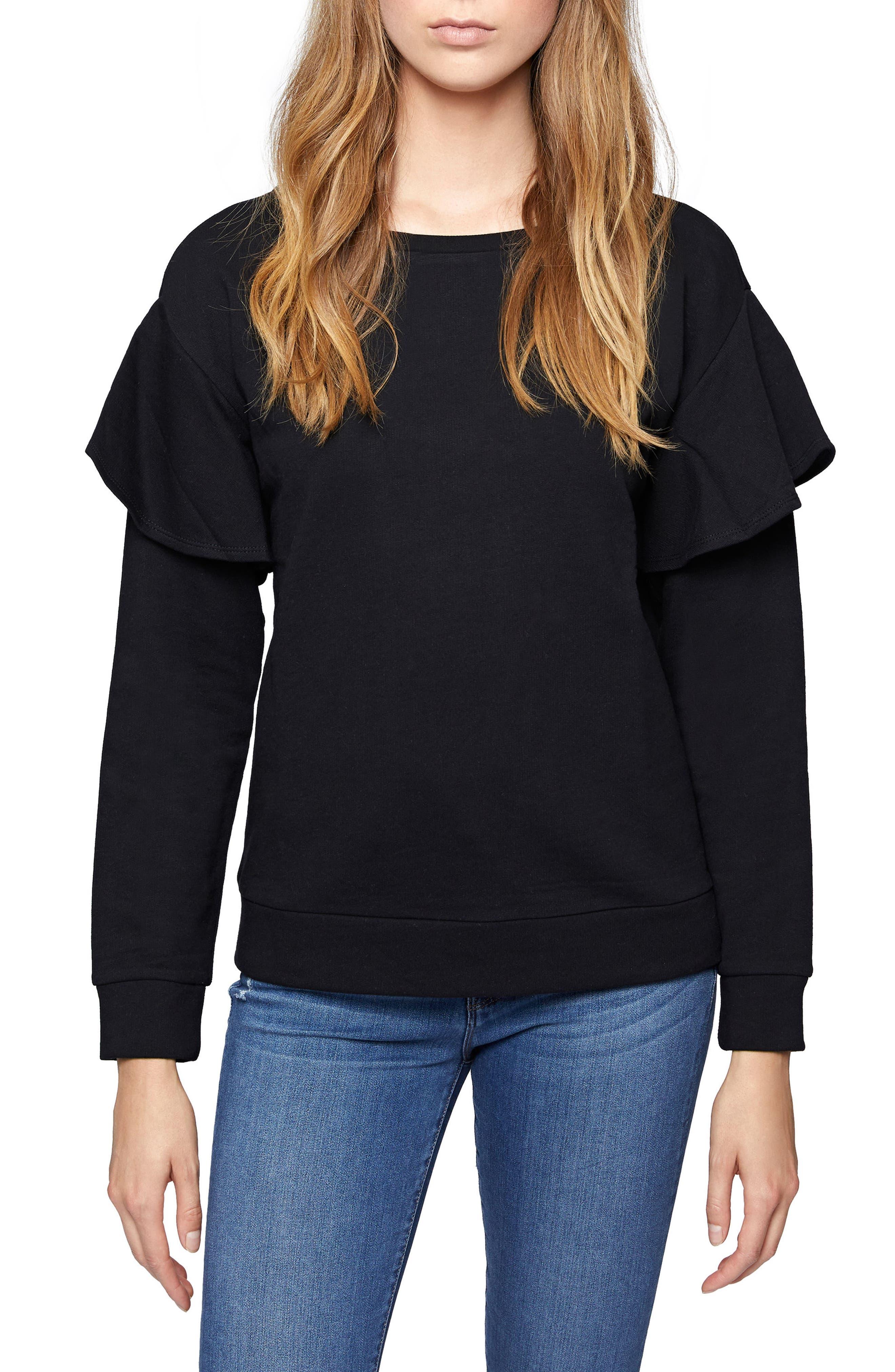 Dominique Sweatshirt,                             Main thumbnail 1, color,                             001