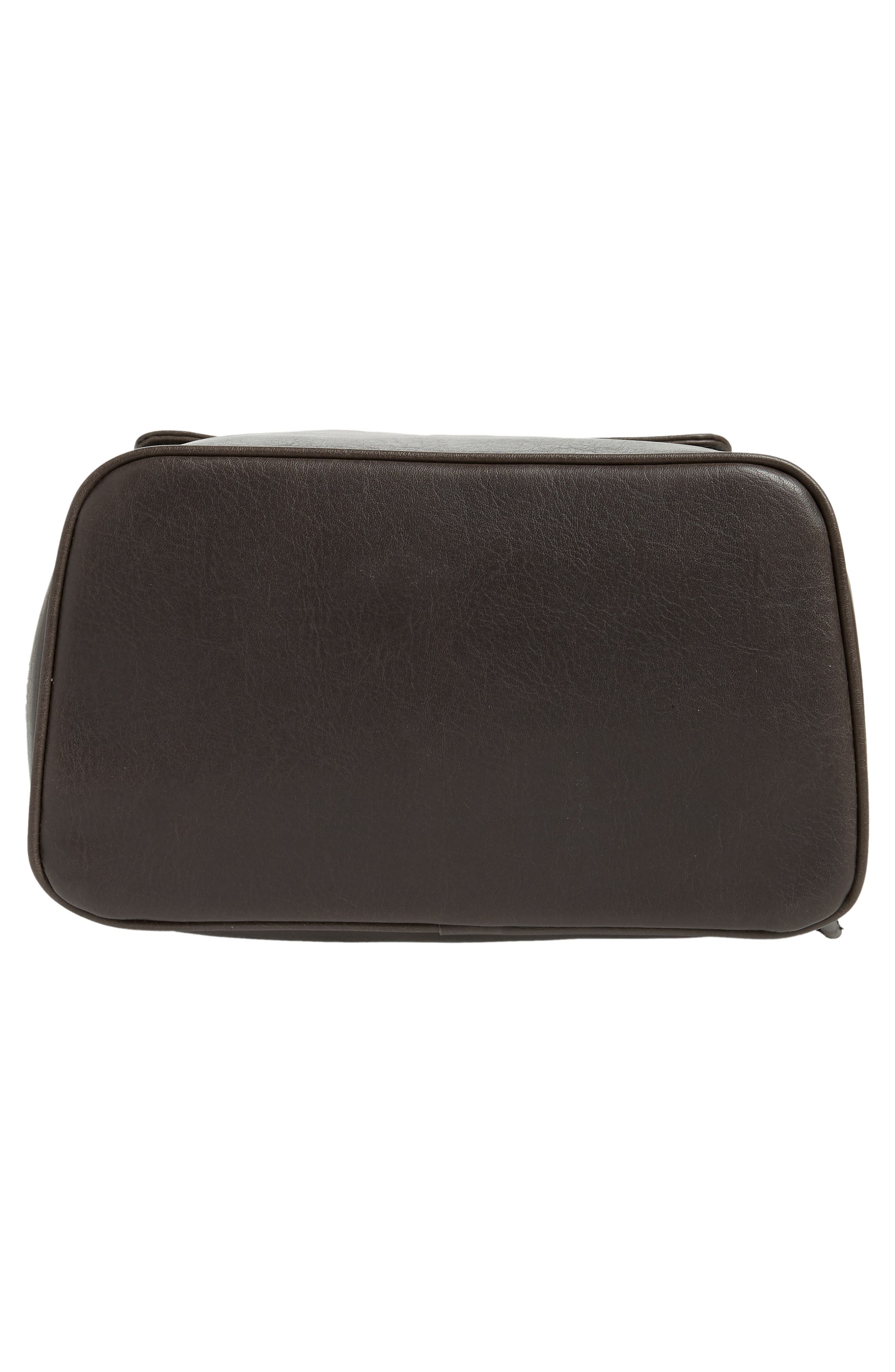 MATT & NAT,                             'Fabi' Faux Leather Laptop Backpack,                             Alternate thumbnail 6, color,                             NO_COLOR