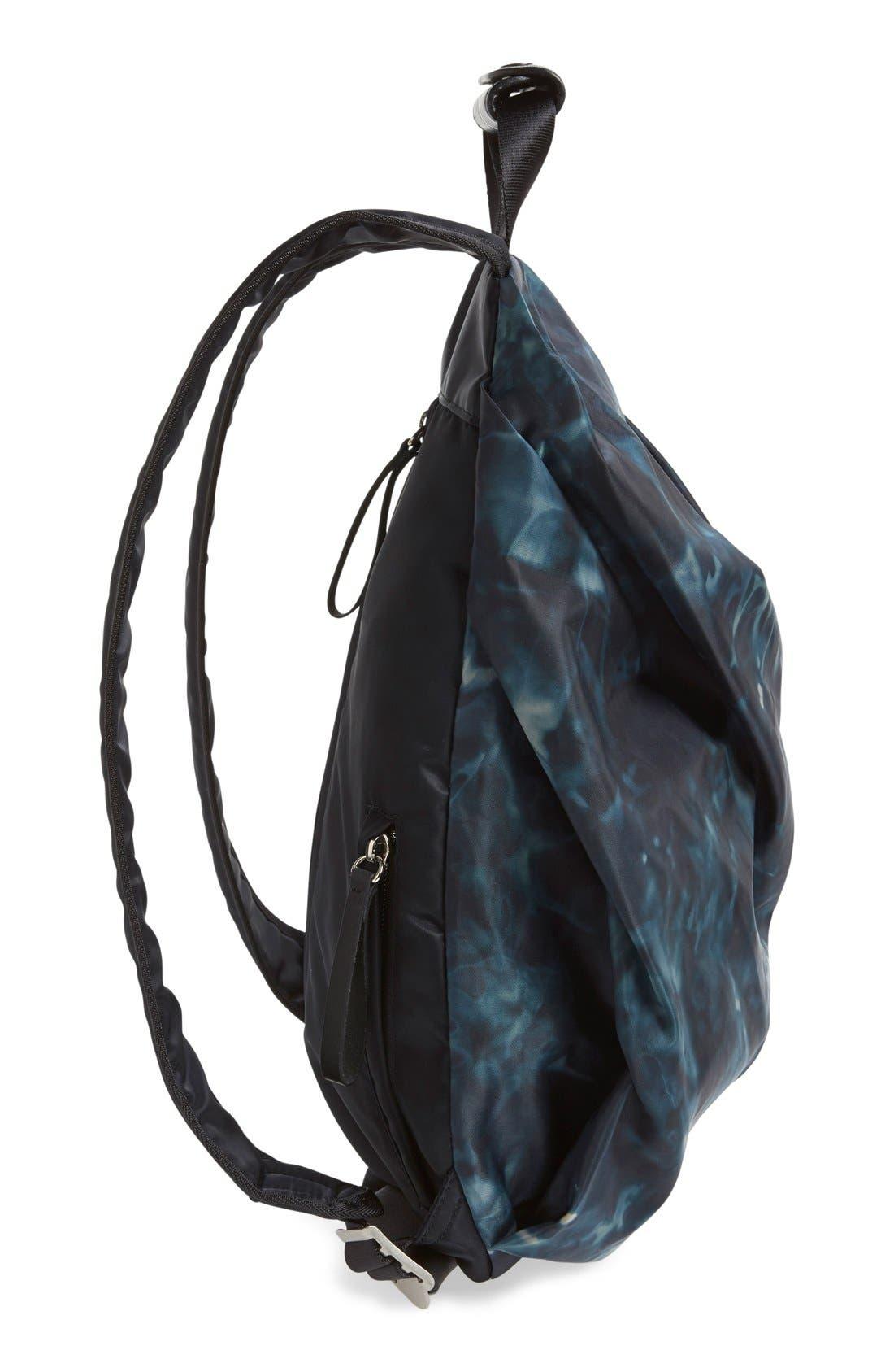 'Tuck' Nylon Backpack,                             Alternate thumbnail 6, color,                             410