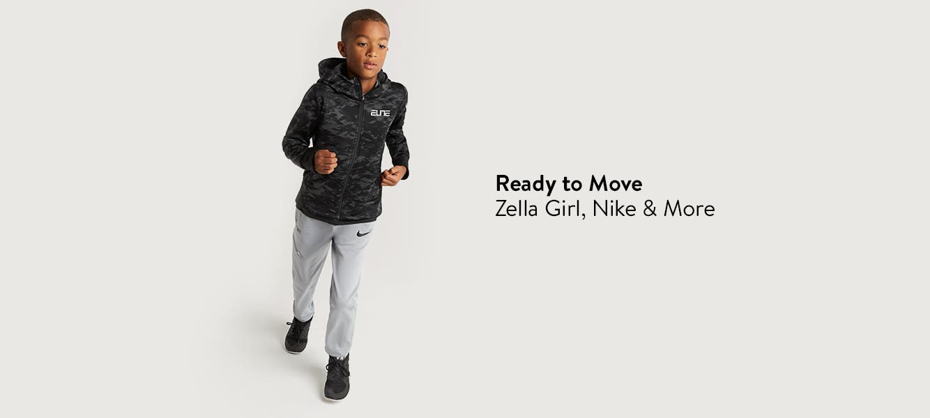 Ready to move: Zella Girl, Nike and more.