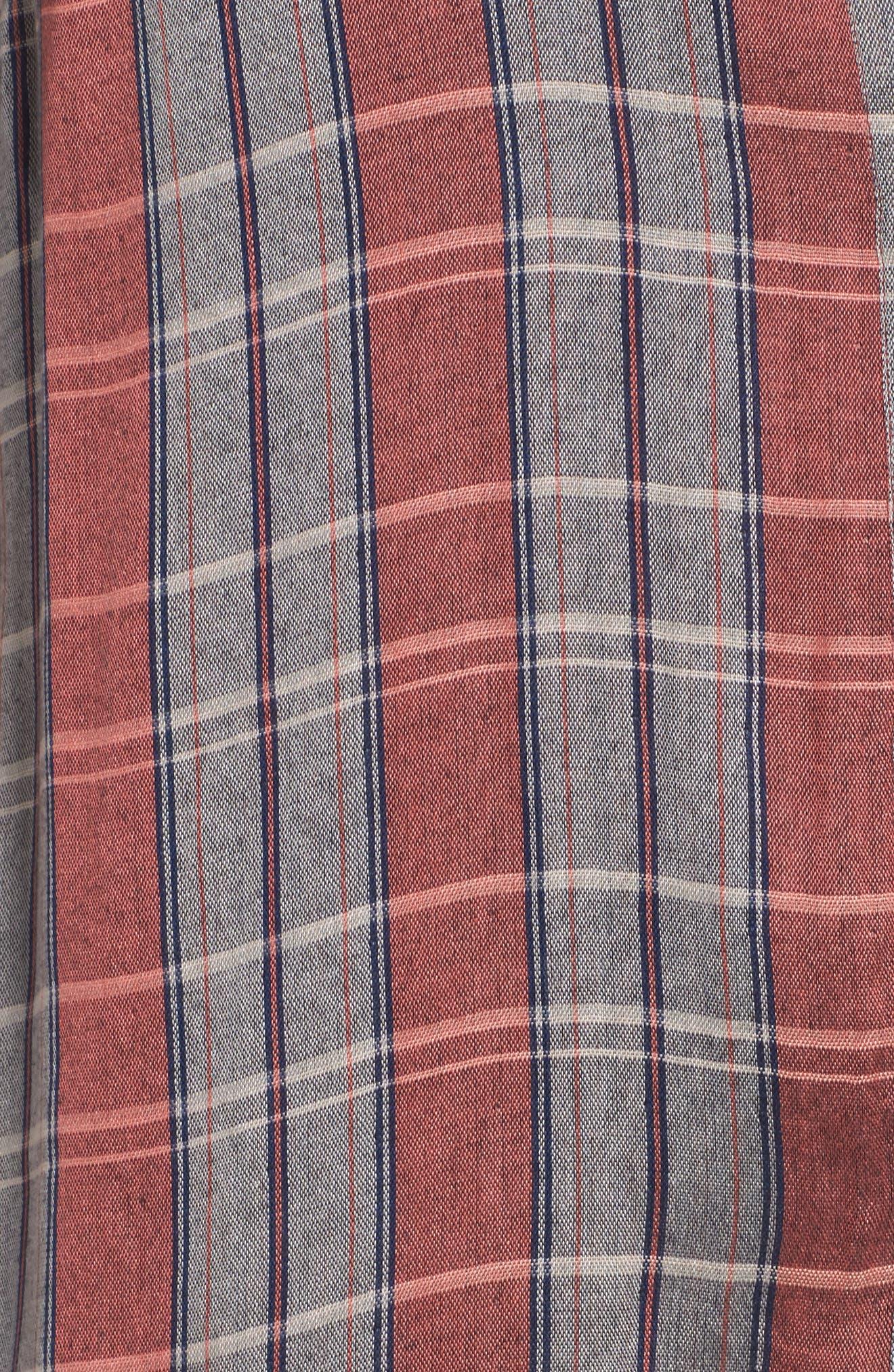 Plaid Pocket Shirt,                             Alternate thumbnail 5, color,